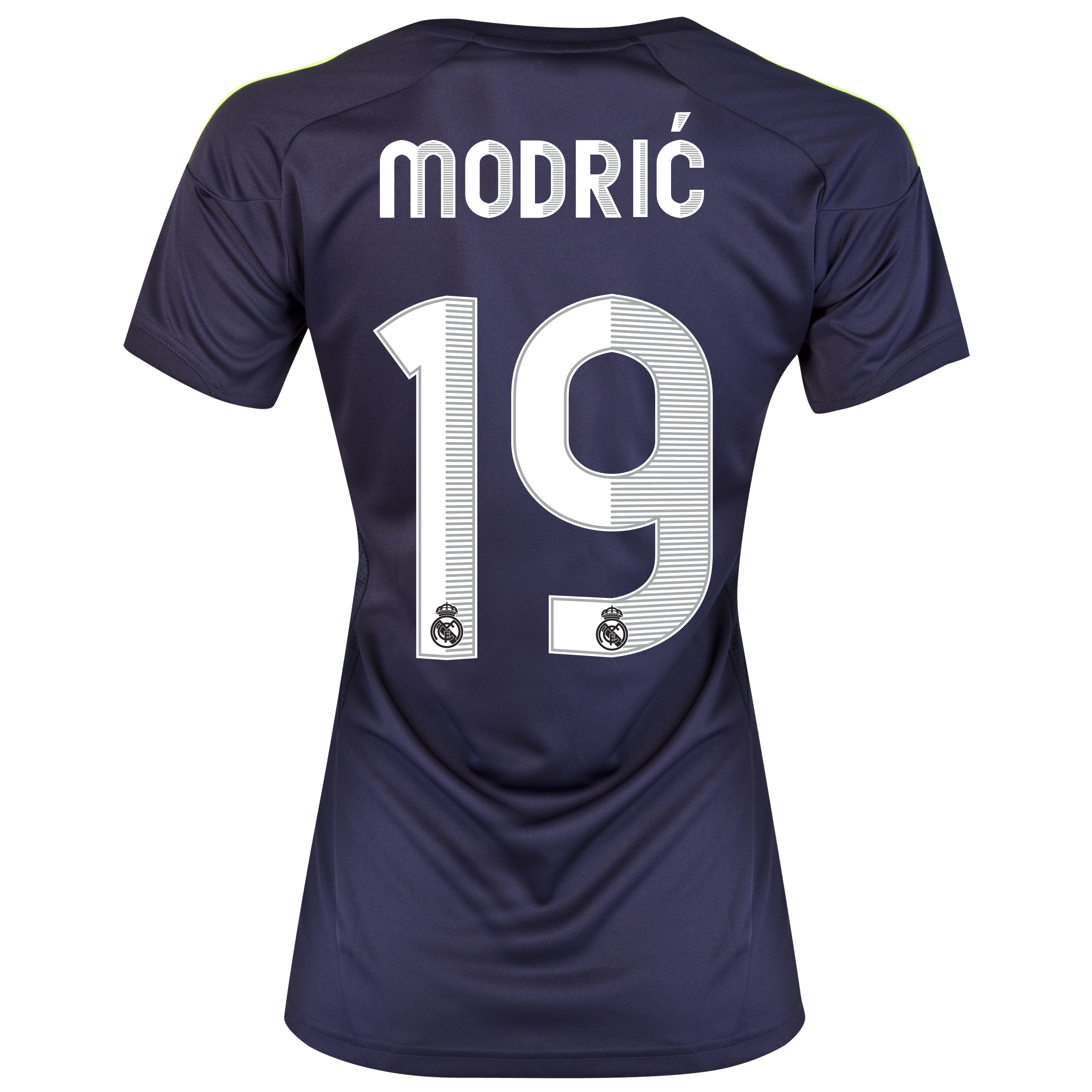 Real Madrid Away Shirt 2012/13 - Womens with Modric 19 printing