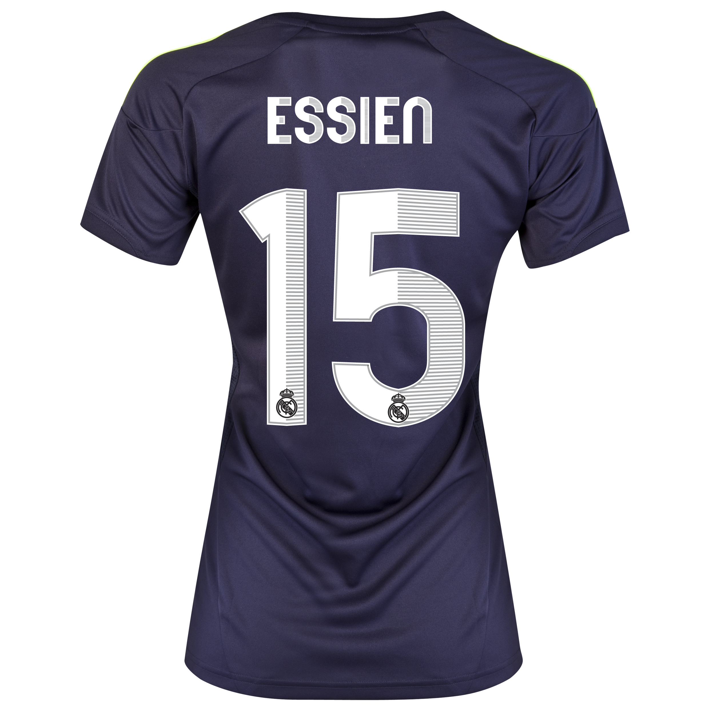Real Madrid Away Shirt 2012/13 - Womens with Essien 15 printing
