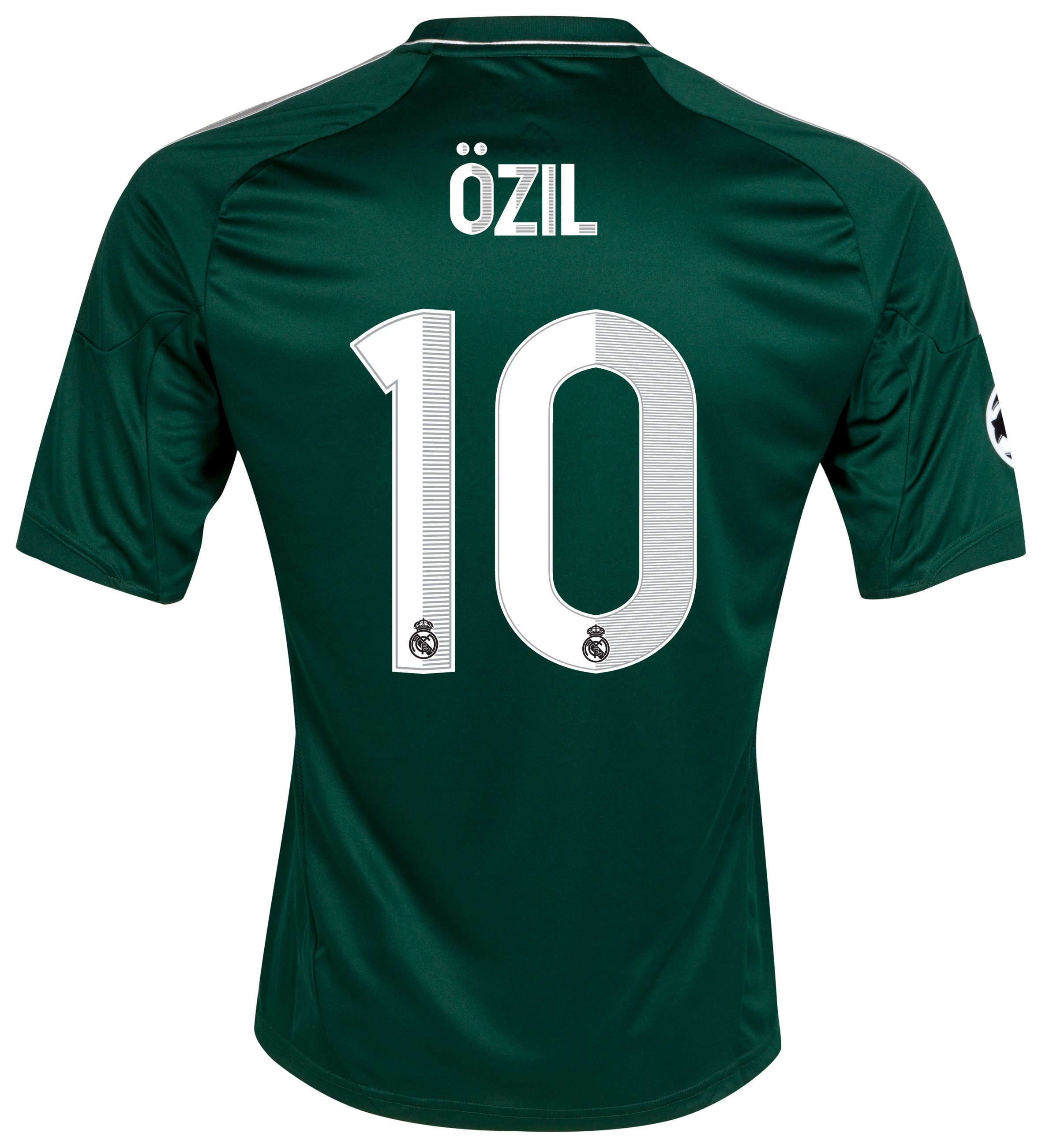 Real Madrid UEFA Champions League Third Shirt 2012/13 - Kids with Özil 10 printing