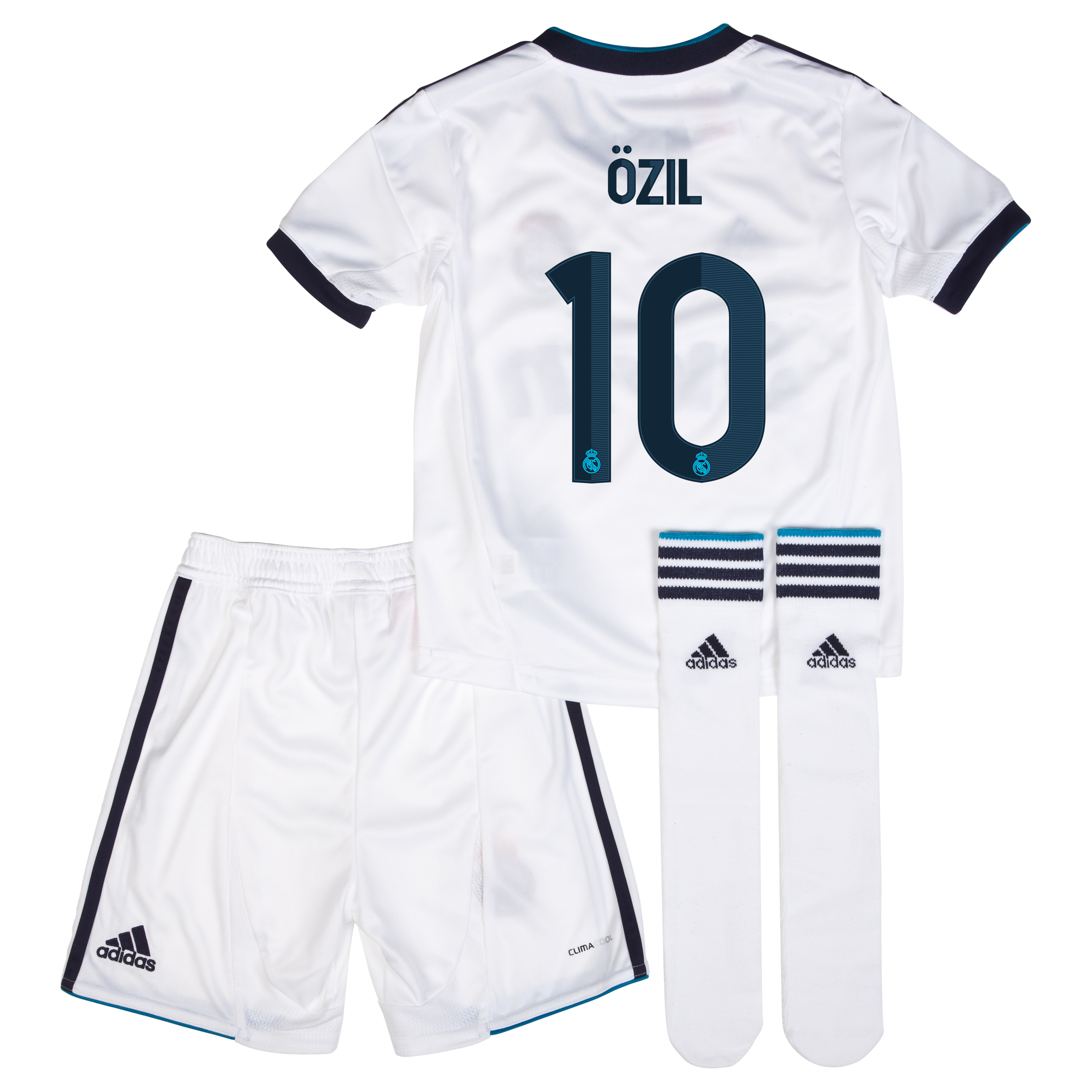 Real Madrid Home Mini Kit 2012/13 with &Ouml;zil 10 printing