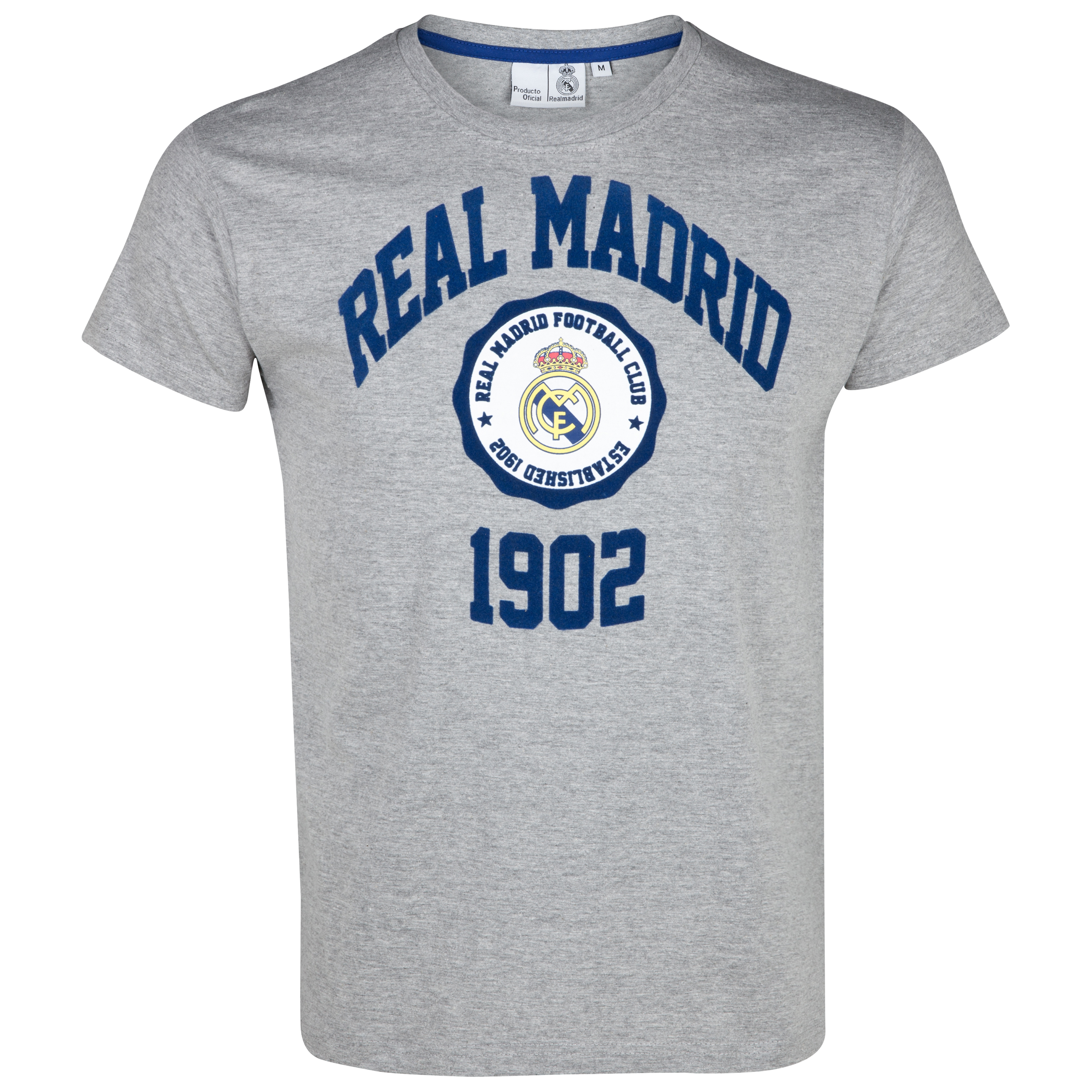 Camiseta Desde 1902 Real Madrid - Gris