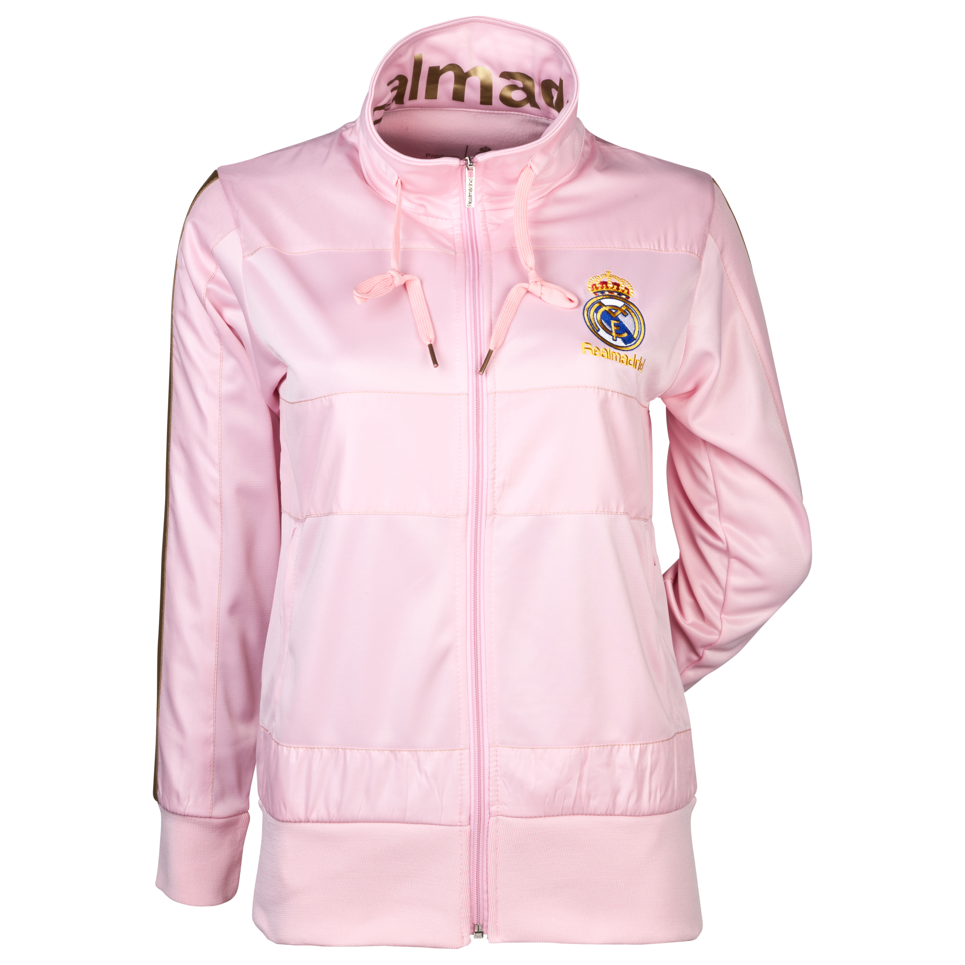 Real Madrid Track Jacket - Pink - Womens