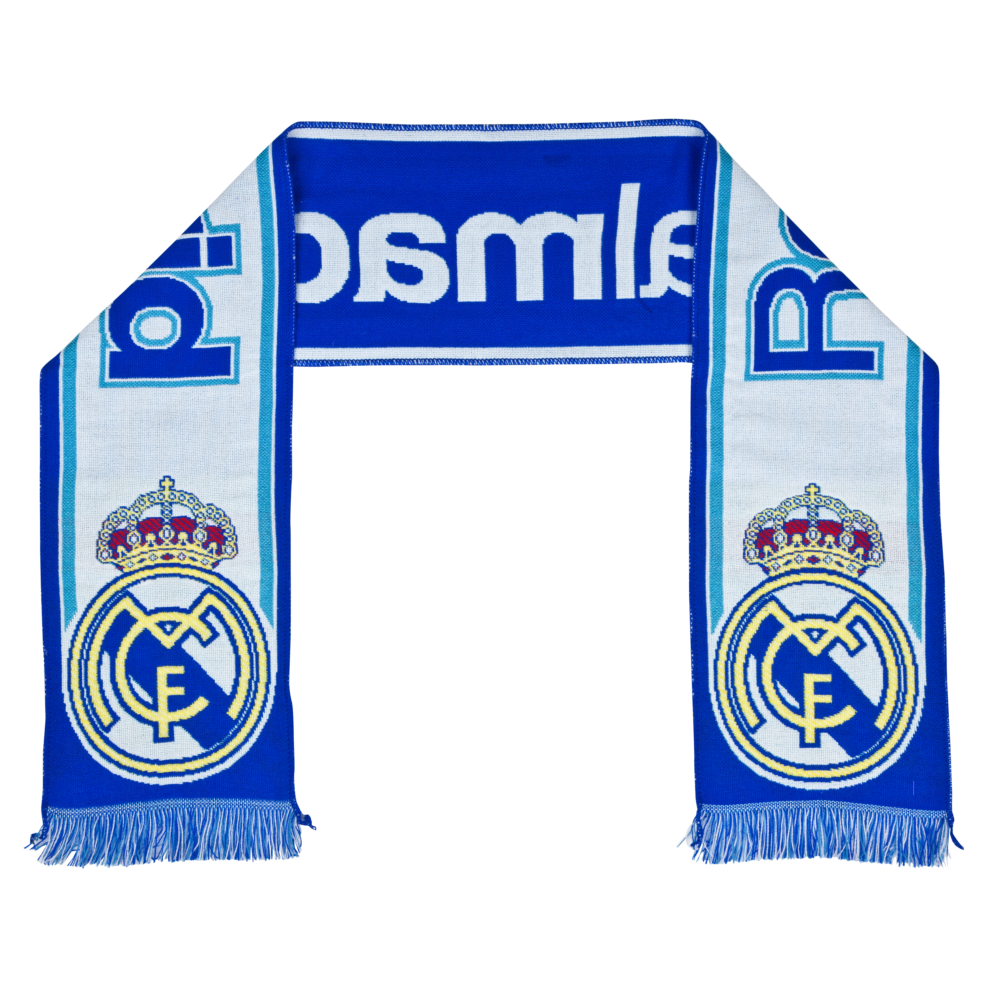 Real Madrid Classic Fan Scarf - White