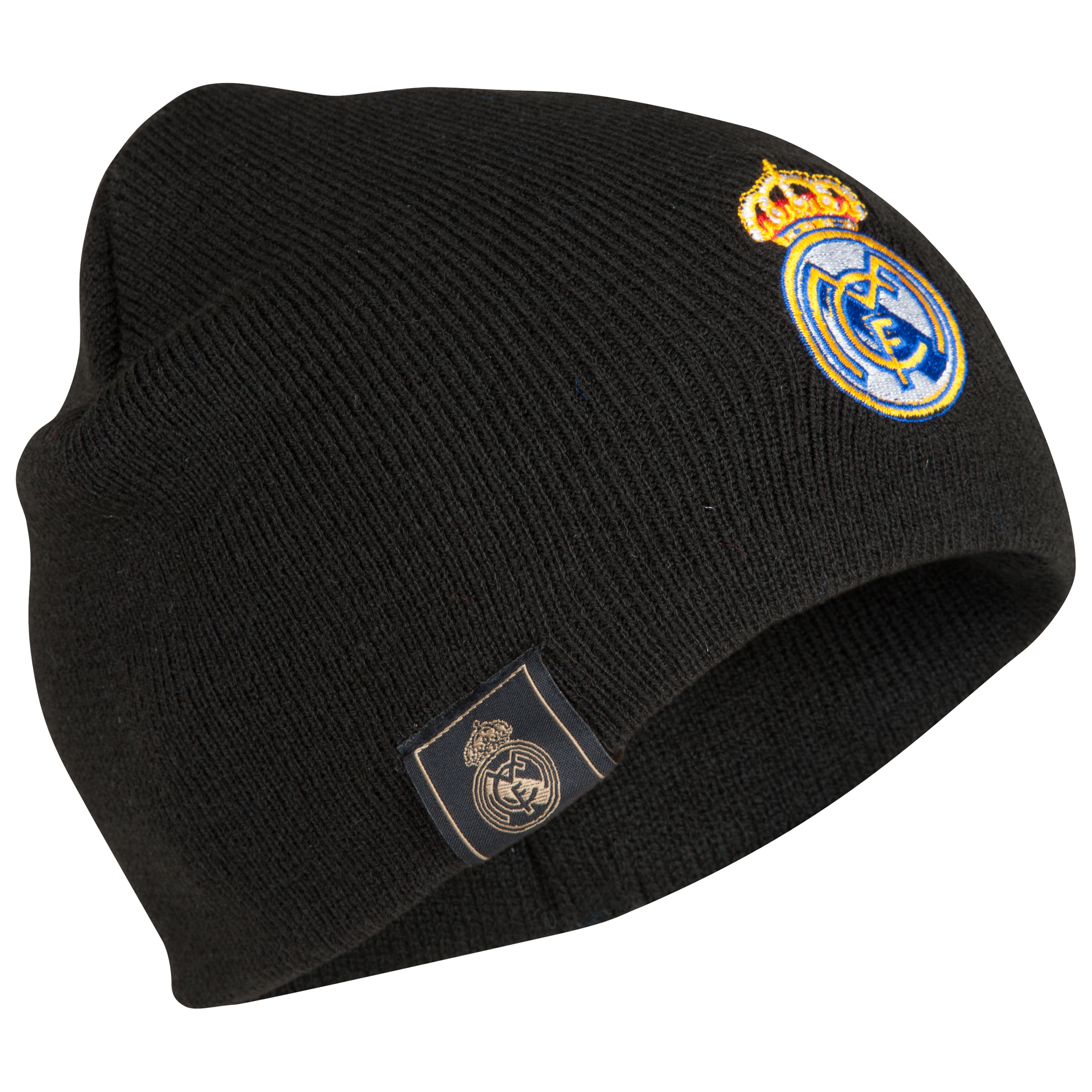 Real Madrid Crest Beanie - Black
