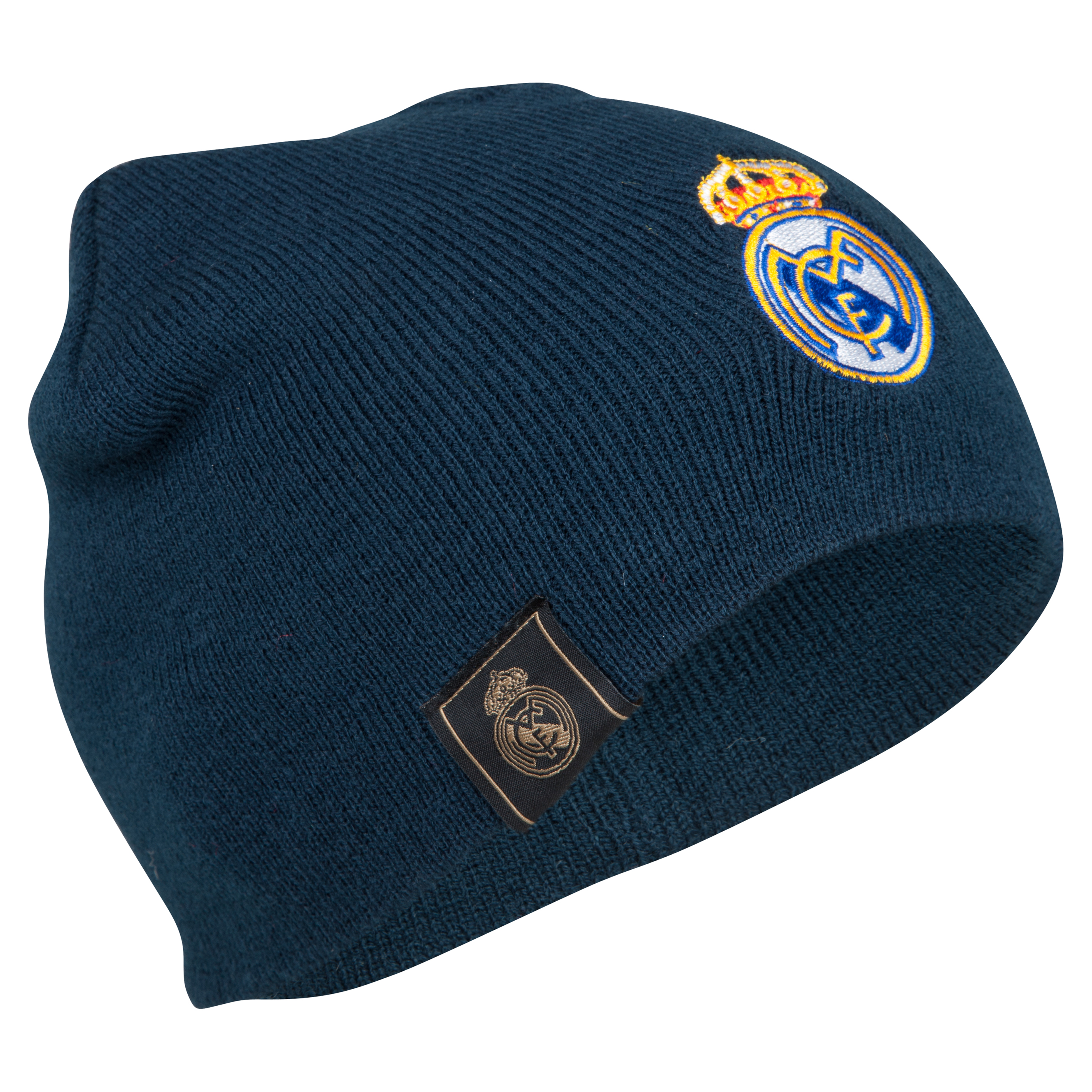 Real Madrid Crest Beanie - Blue