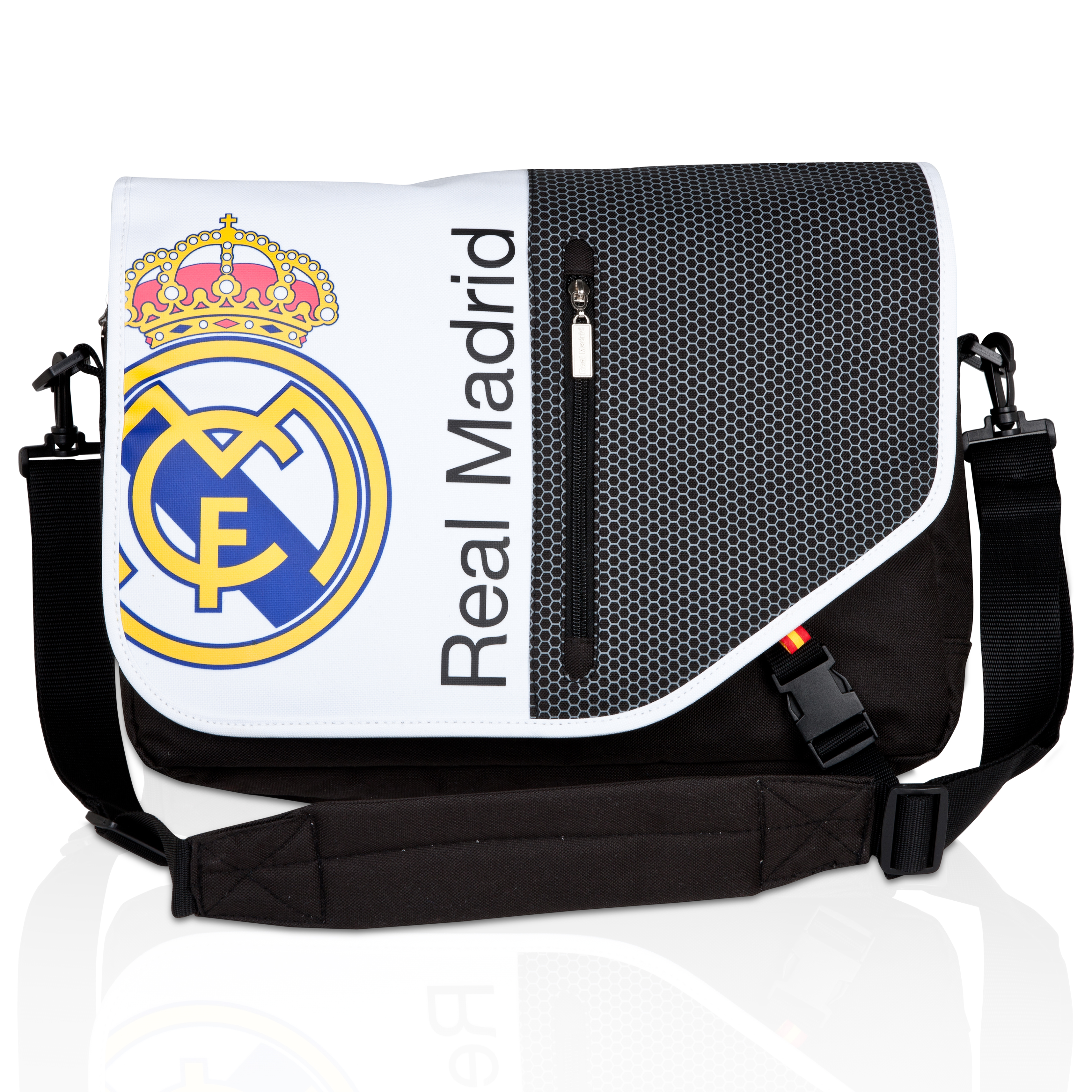 Funda porttil bandolera Real Madrid - 40 cm