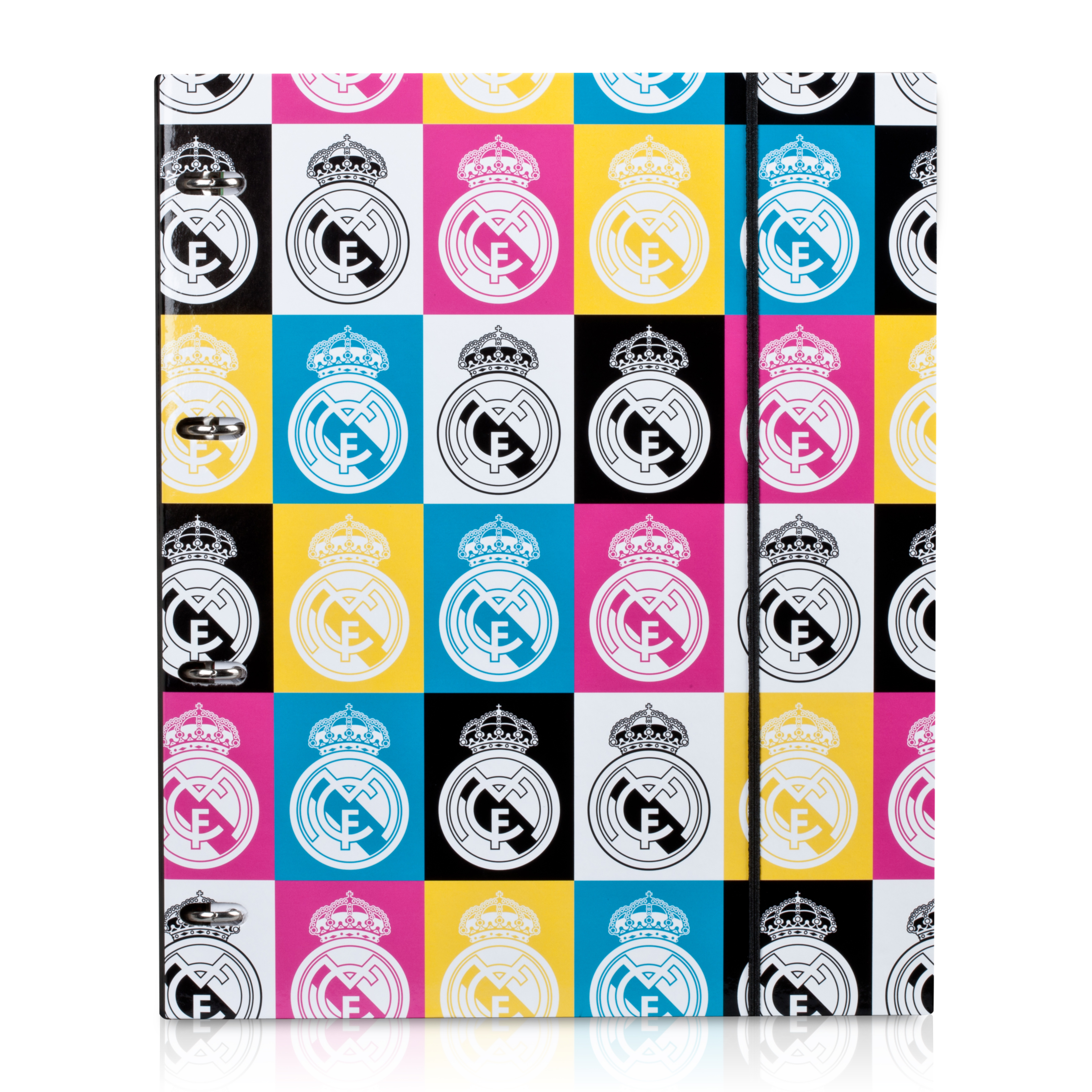Real Madrid A4 Ladies Ringbinder - 80 Pages