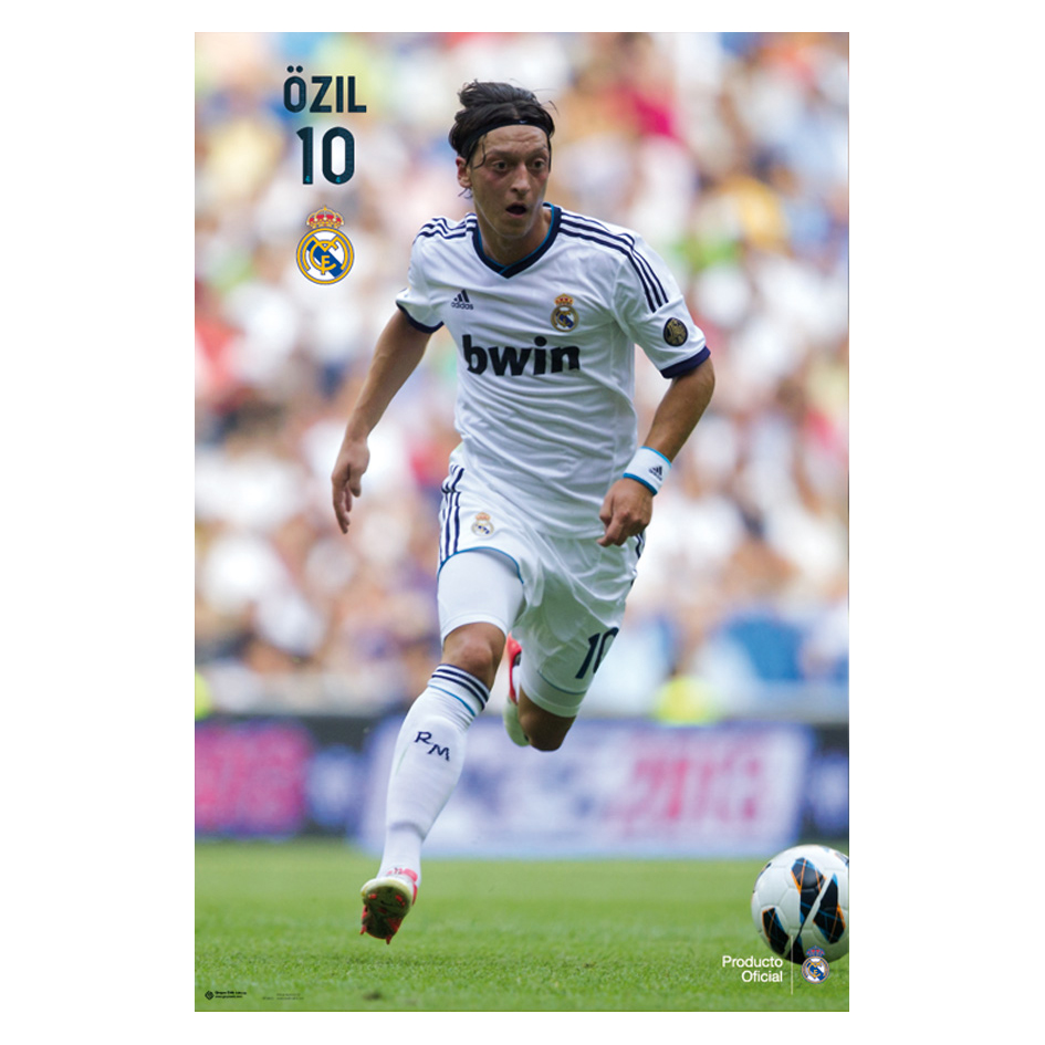 Póster Özil Real Madrid - 61 x 91,5 cm