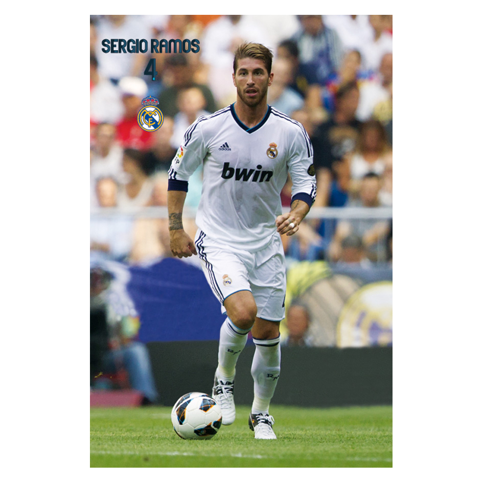Real Madrid Sergio Ramos Poster - 61 x 91.5cm