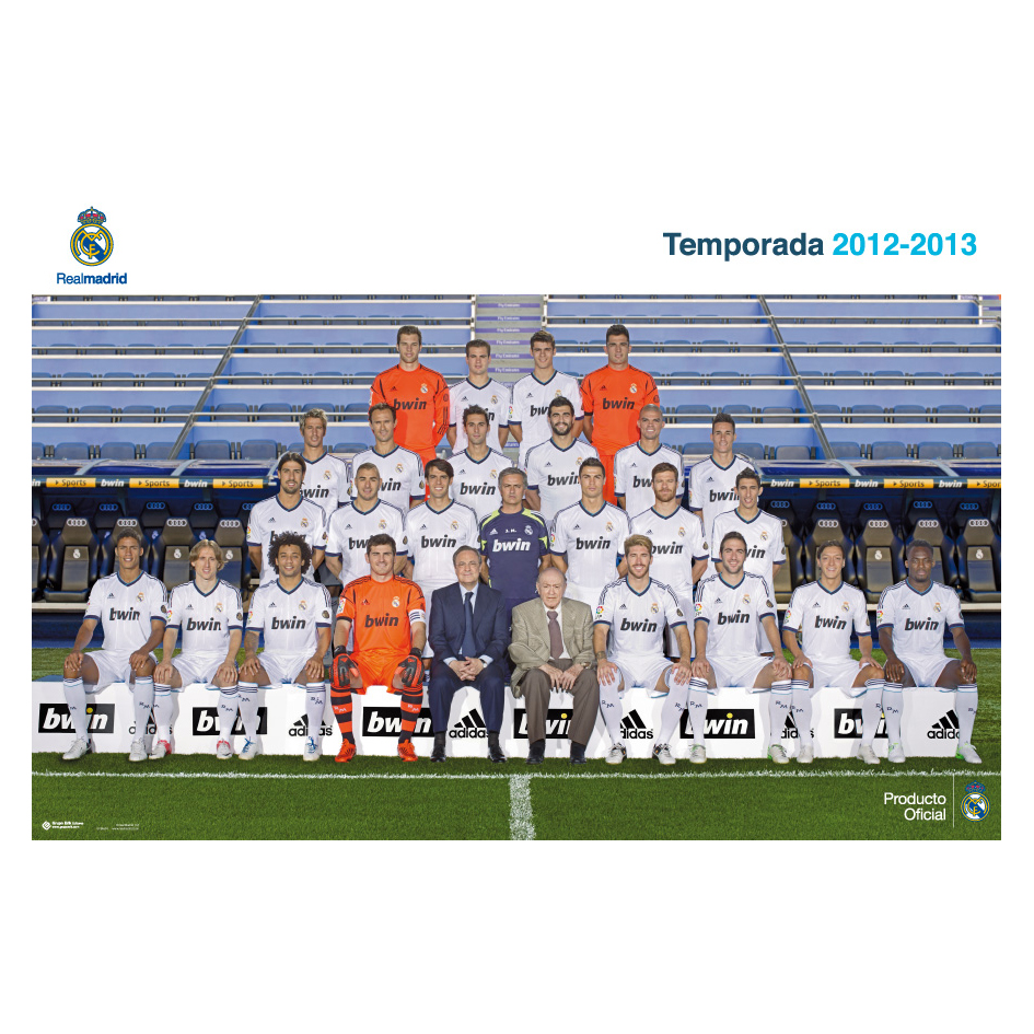 Real Madrid 2012-13 Team Poster - 61 x 91.5cm