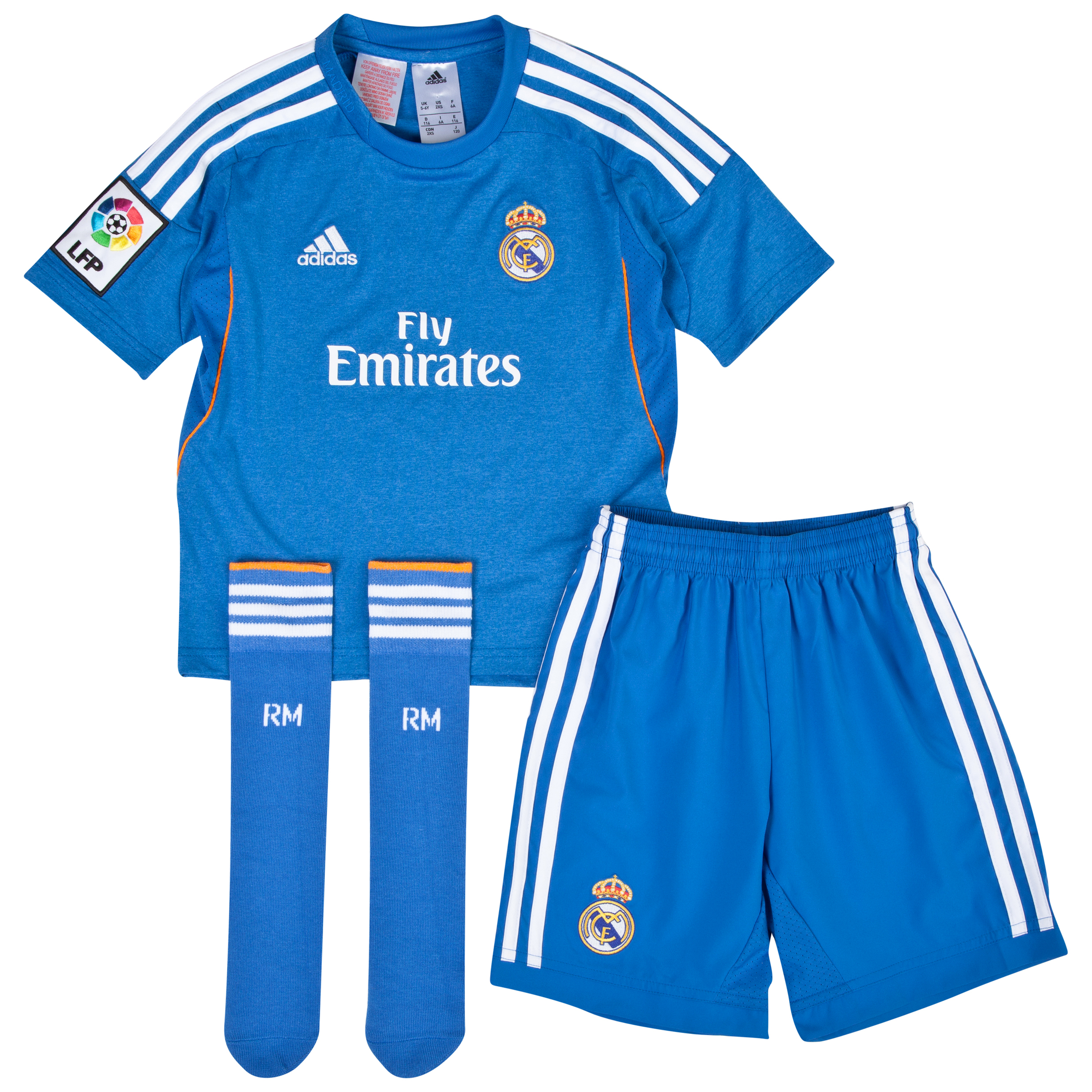 Real Madrid Away Mini Kit 2013/14
