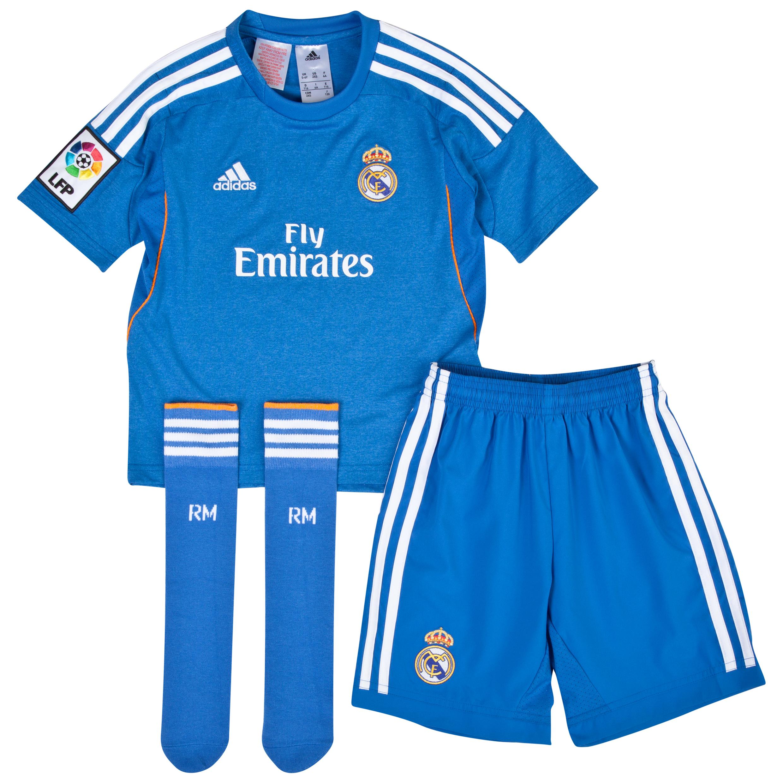 Real Madrid Away Mini Kit 2013/14