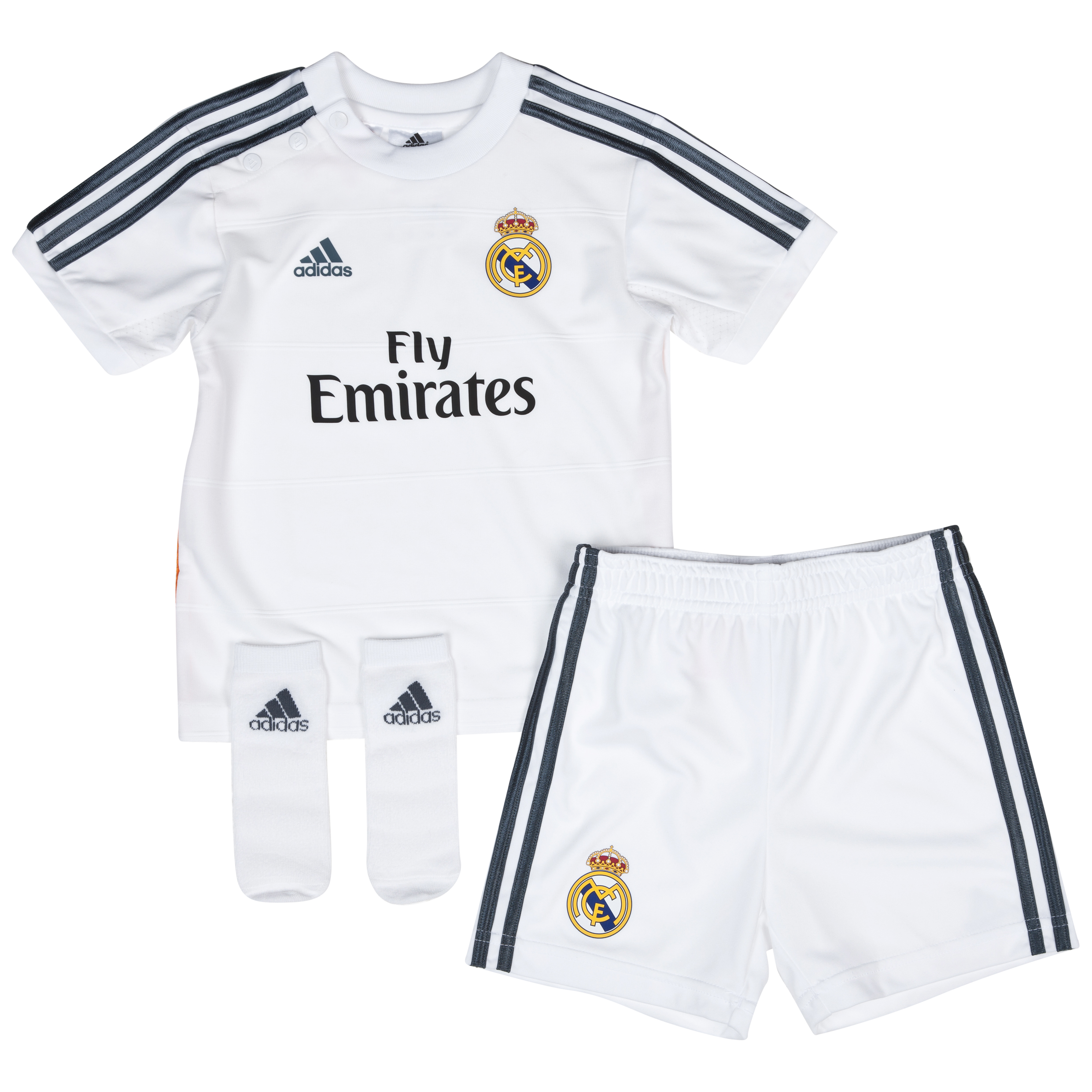 Buy Real Madrid Home Baby Kit 2013/14