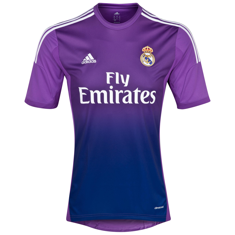 Real Madrid Home Goalkeeper Shirt 2013/14