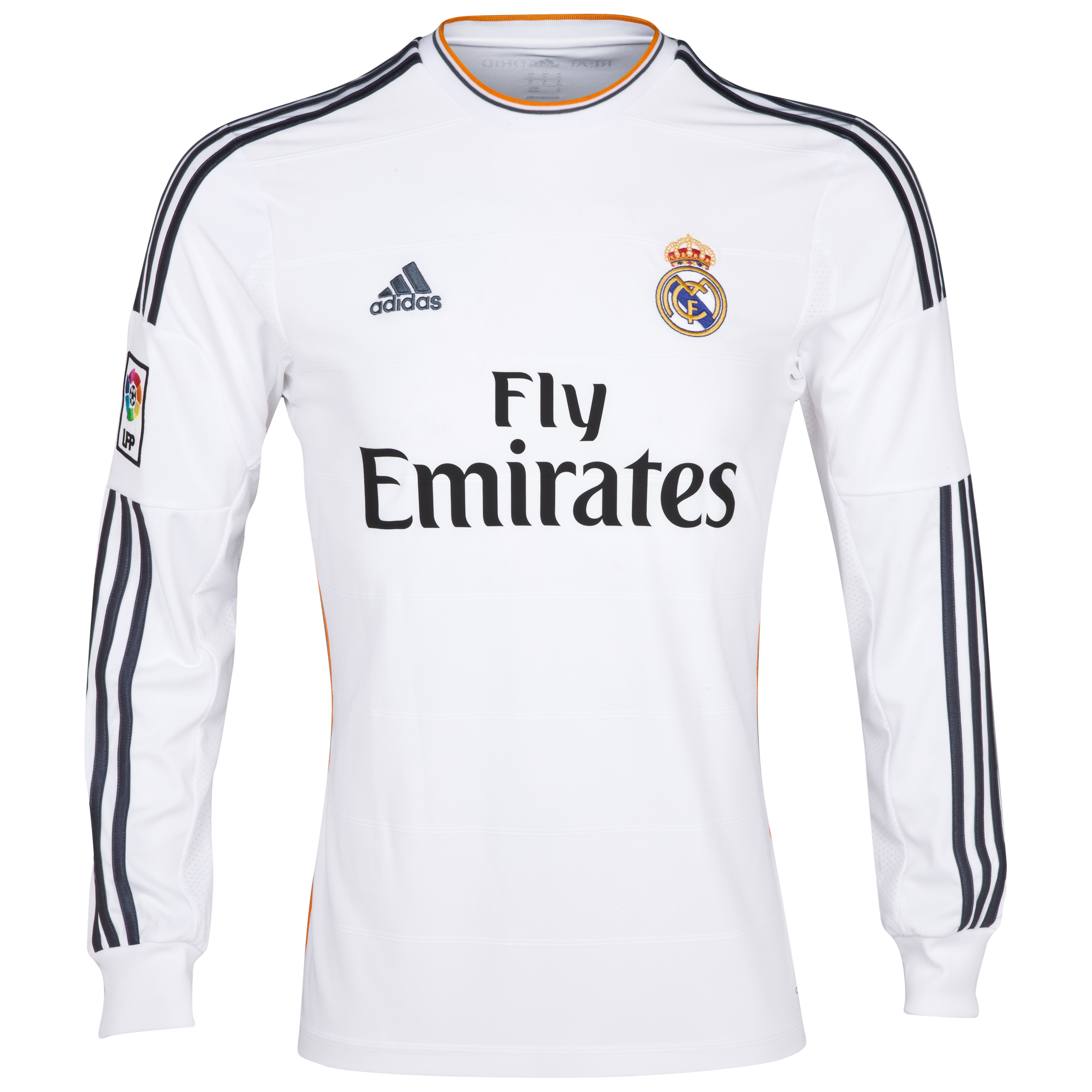Real Madrid Home Shirt 2013/14 Long Sleeve