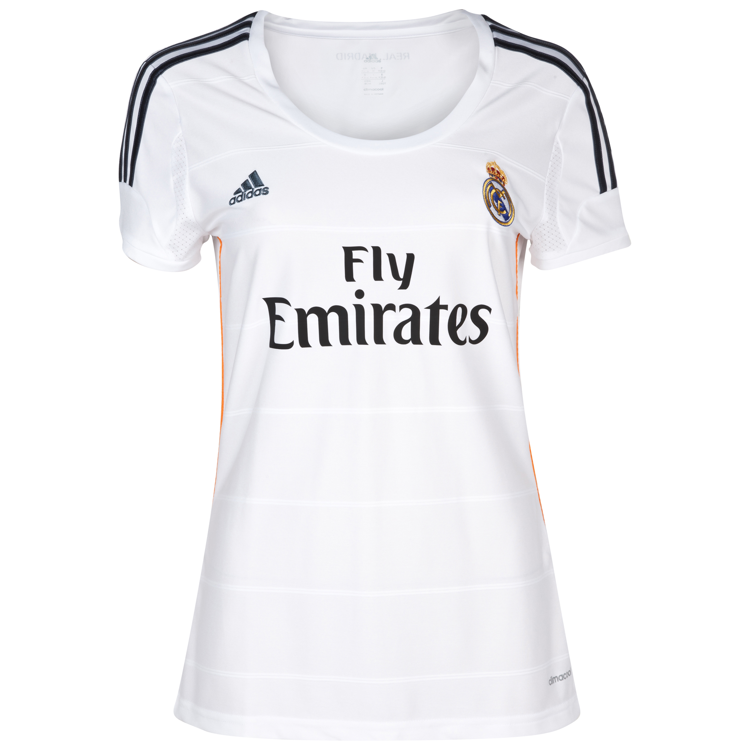 Real Madrid Home Shirt 2013/14 Womens