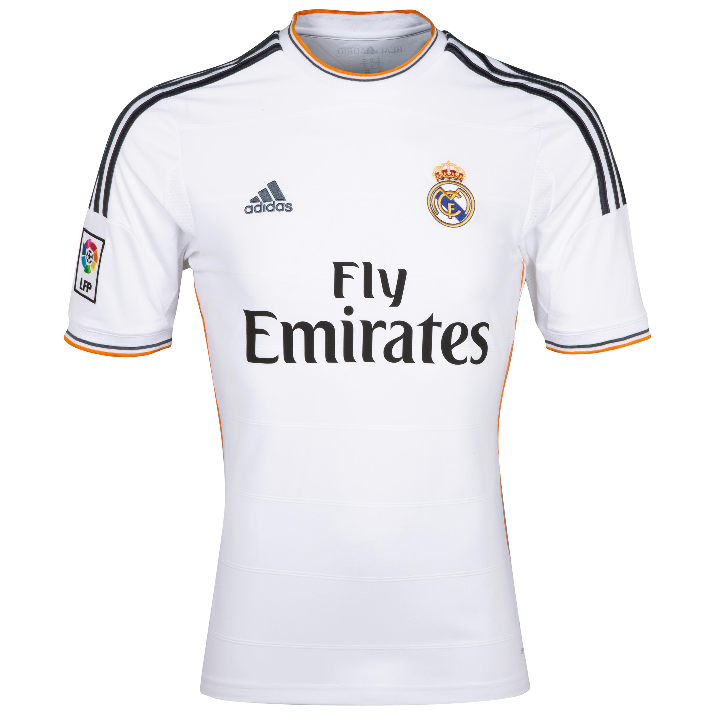 Real Madrid Home Shirt 2013/14 - Kids