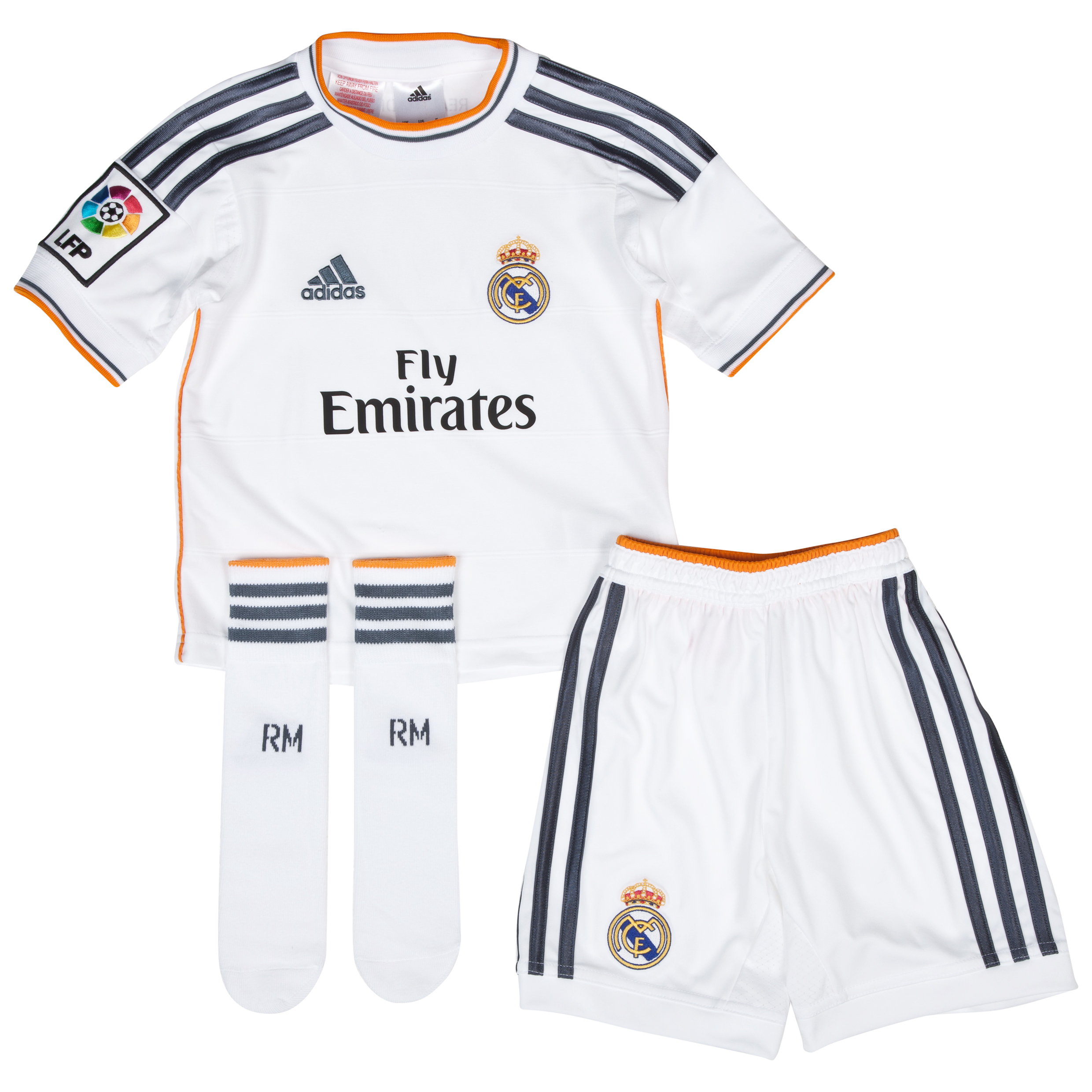 Real Madrid Home Mini Kit 2013/14