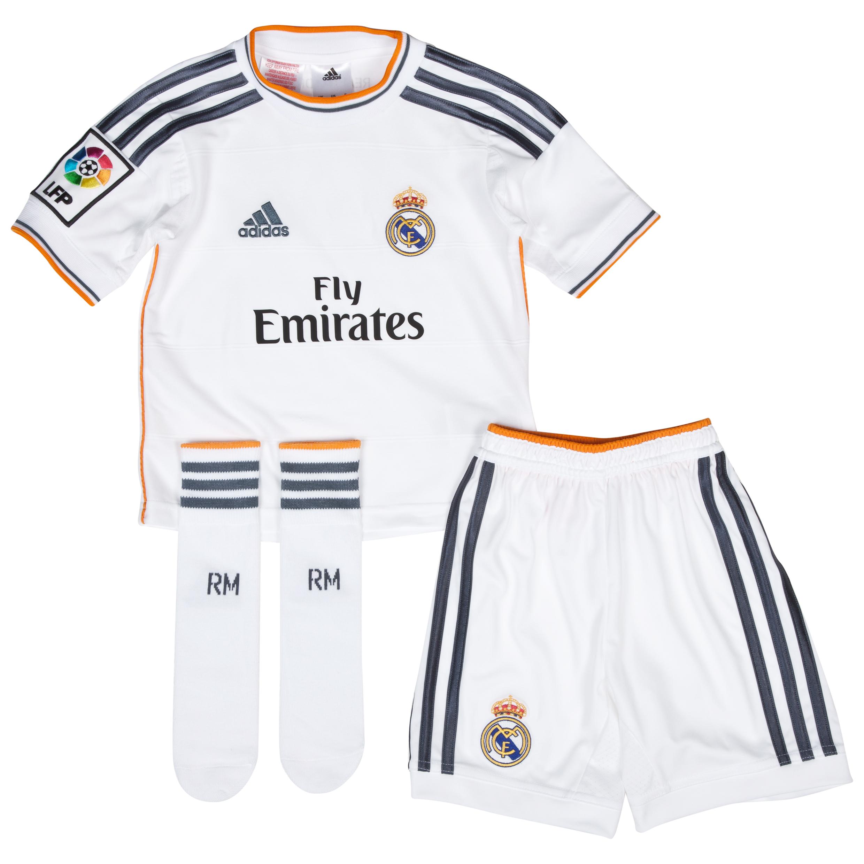 Real Madrid Home Mini Kit 2013/14