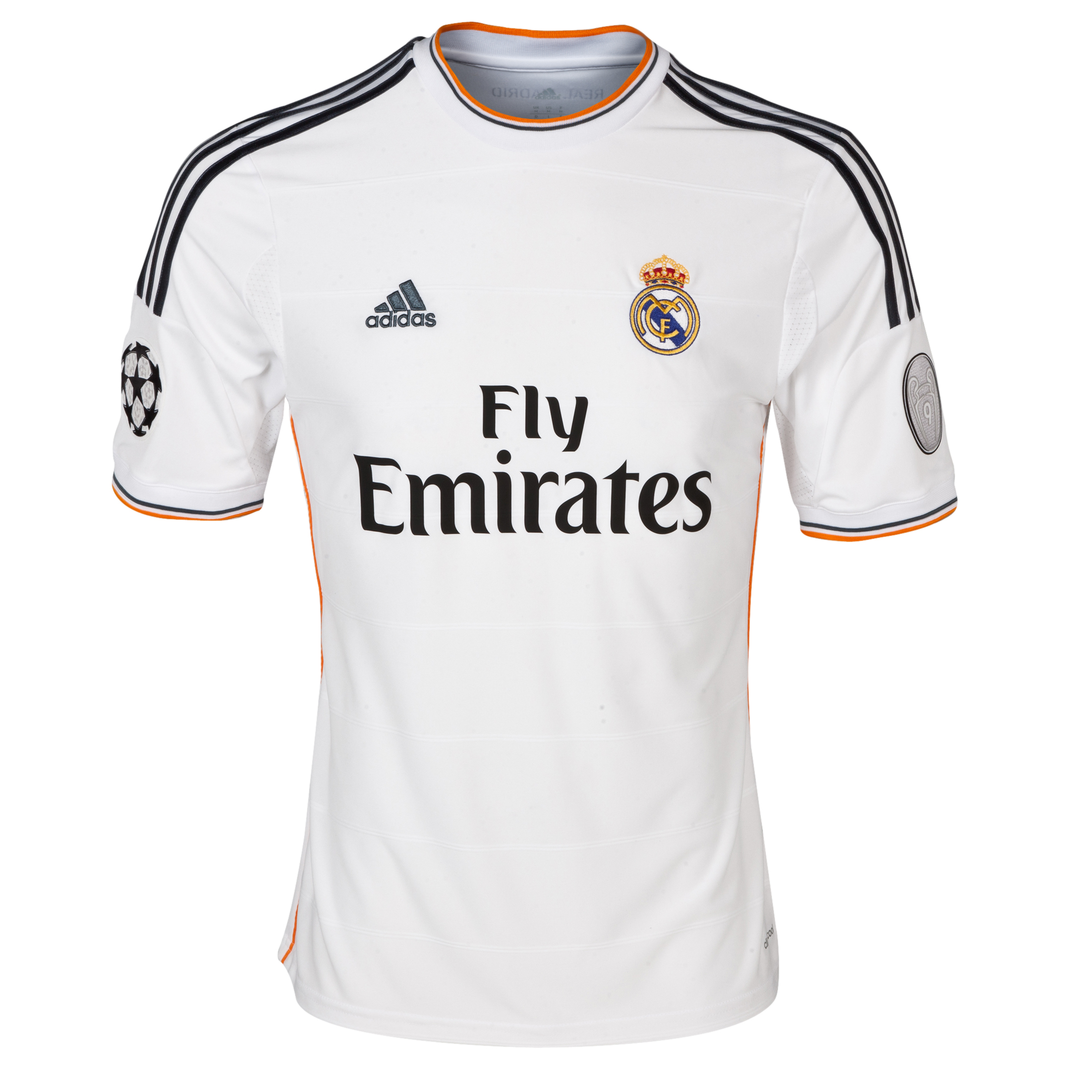 Real Madrid UEFA Champions League Home Shirt 2013/14