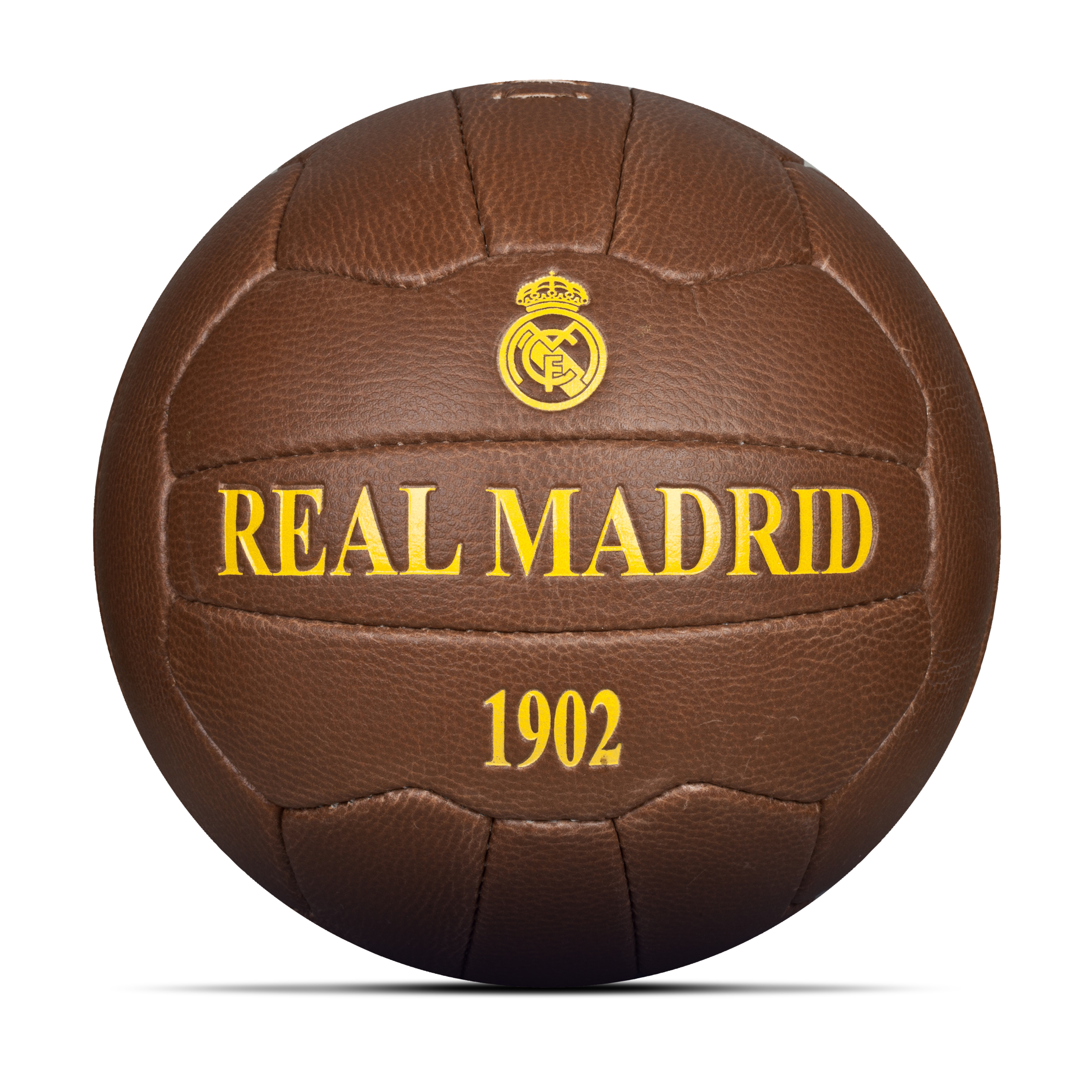 Image of Real Madrid Historic Football, Brown