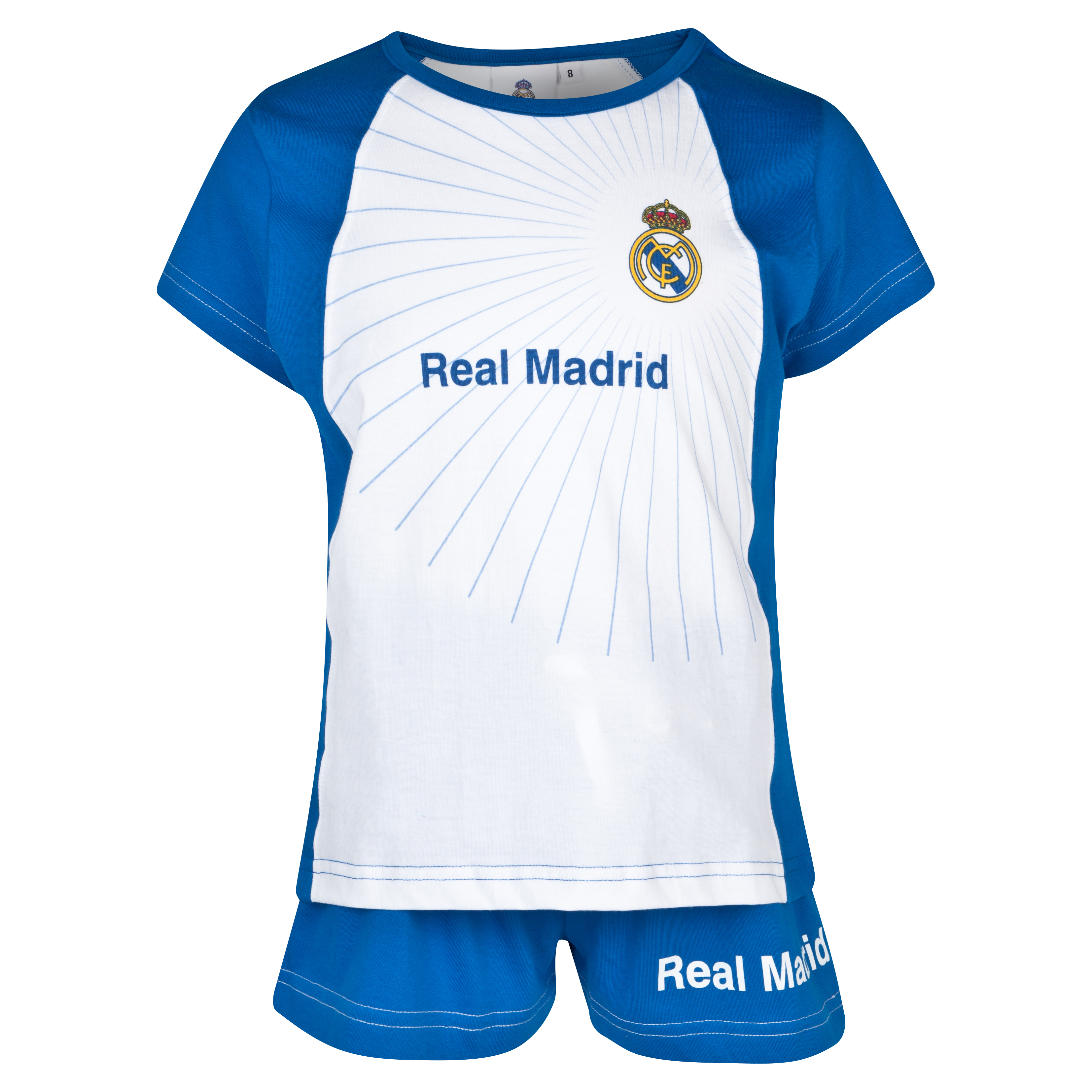 Real Madrid Pyjamas - Girls White