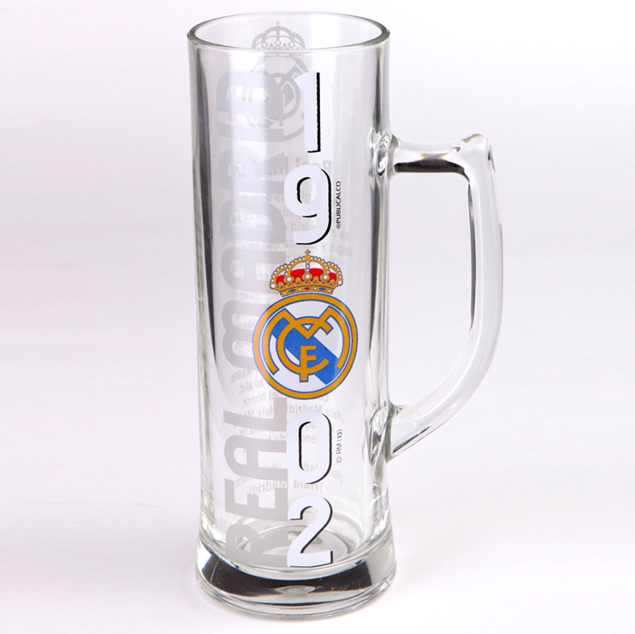 Real Madrid 1902 Tall Glass Tankard