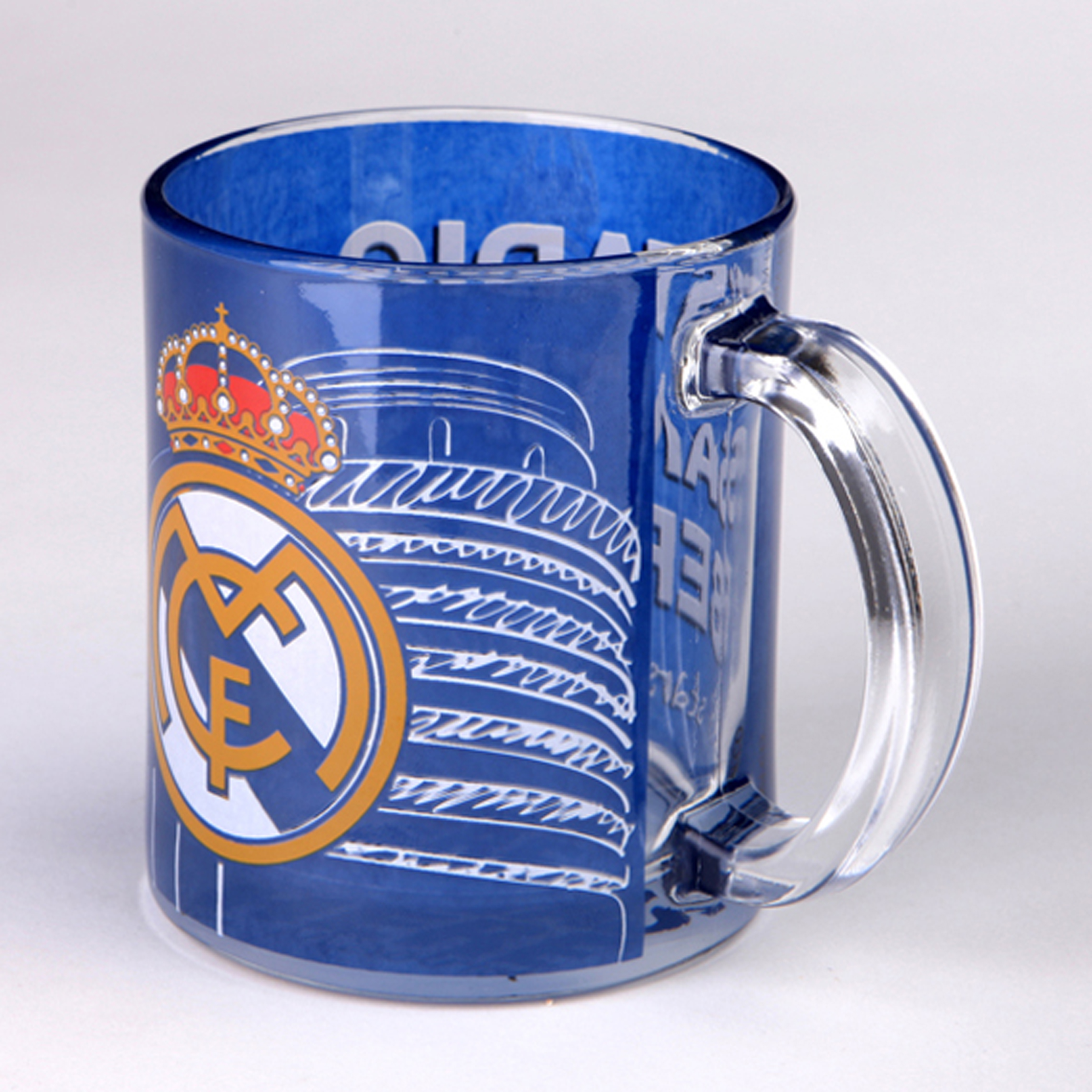 Real Madrid Bernabeu Glass Mug