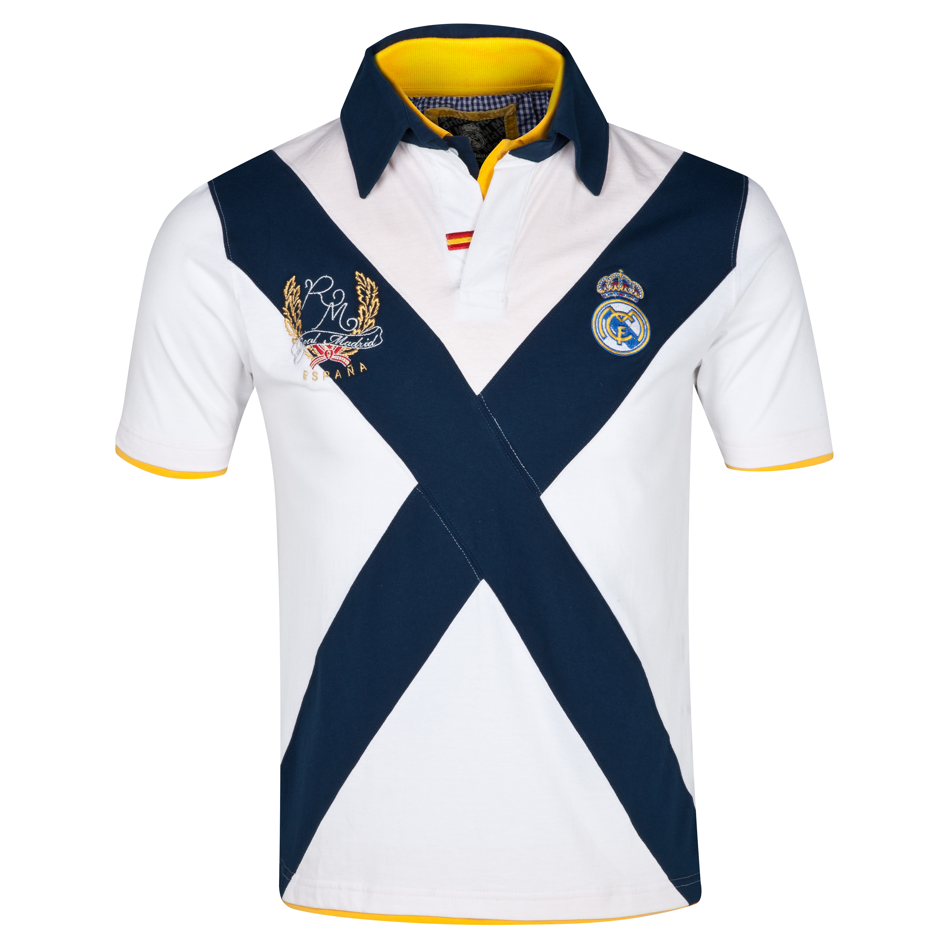 Real Madrid Cross Polo - Hombres Blanco