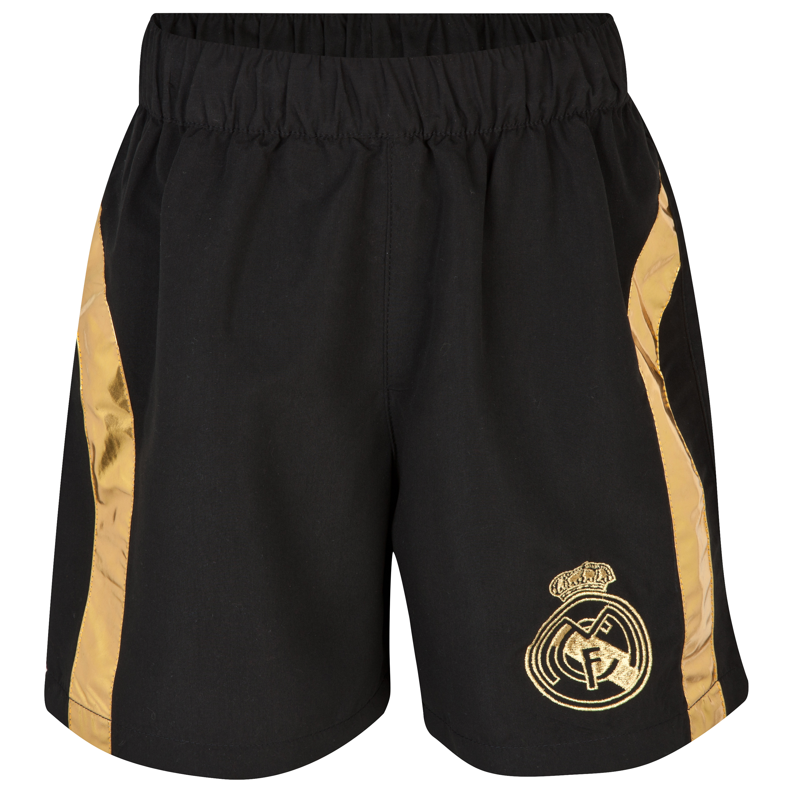 Real Madrid Swim Shorts - Boys Black