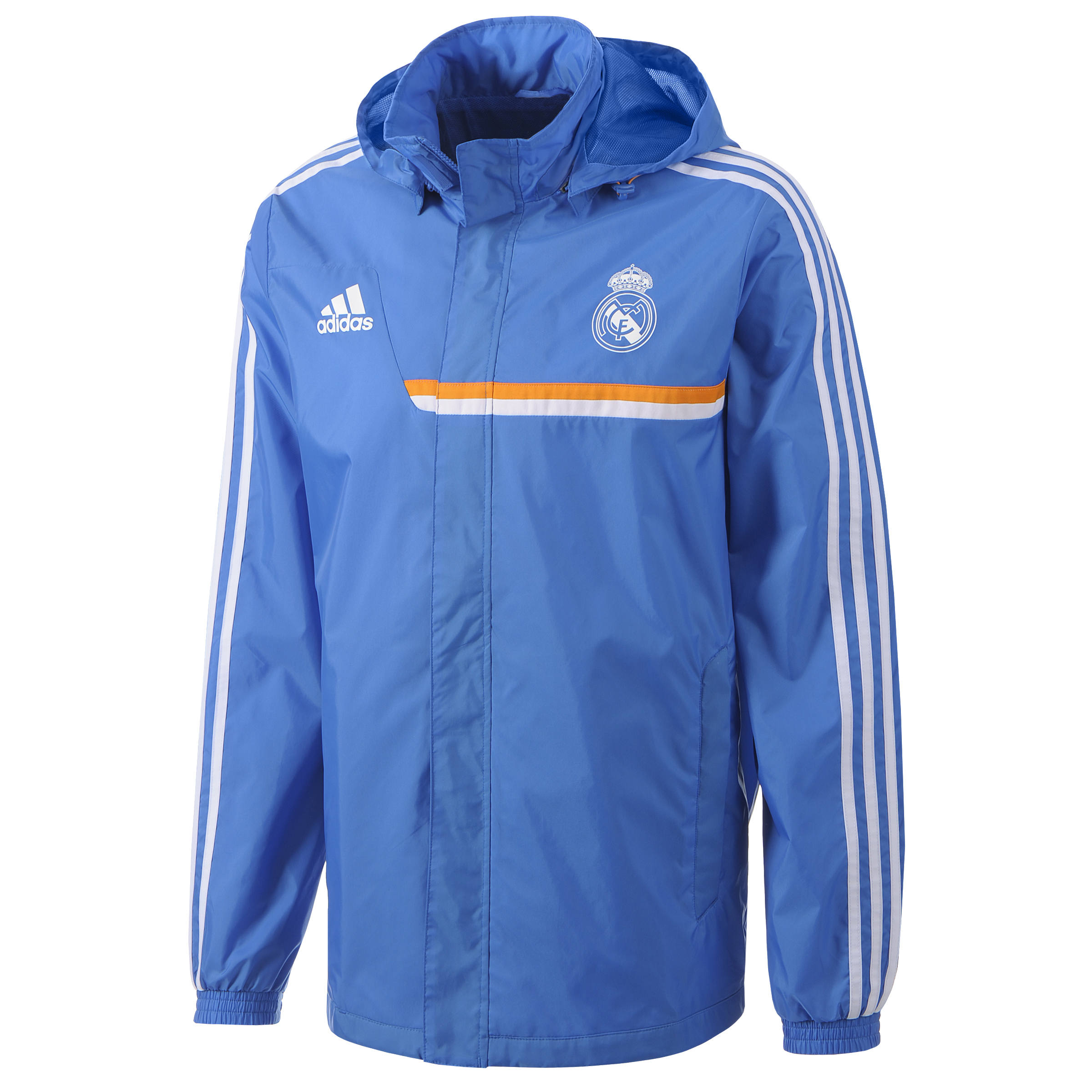 Real Madrid All Weather Jacket - Mens Blue