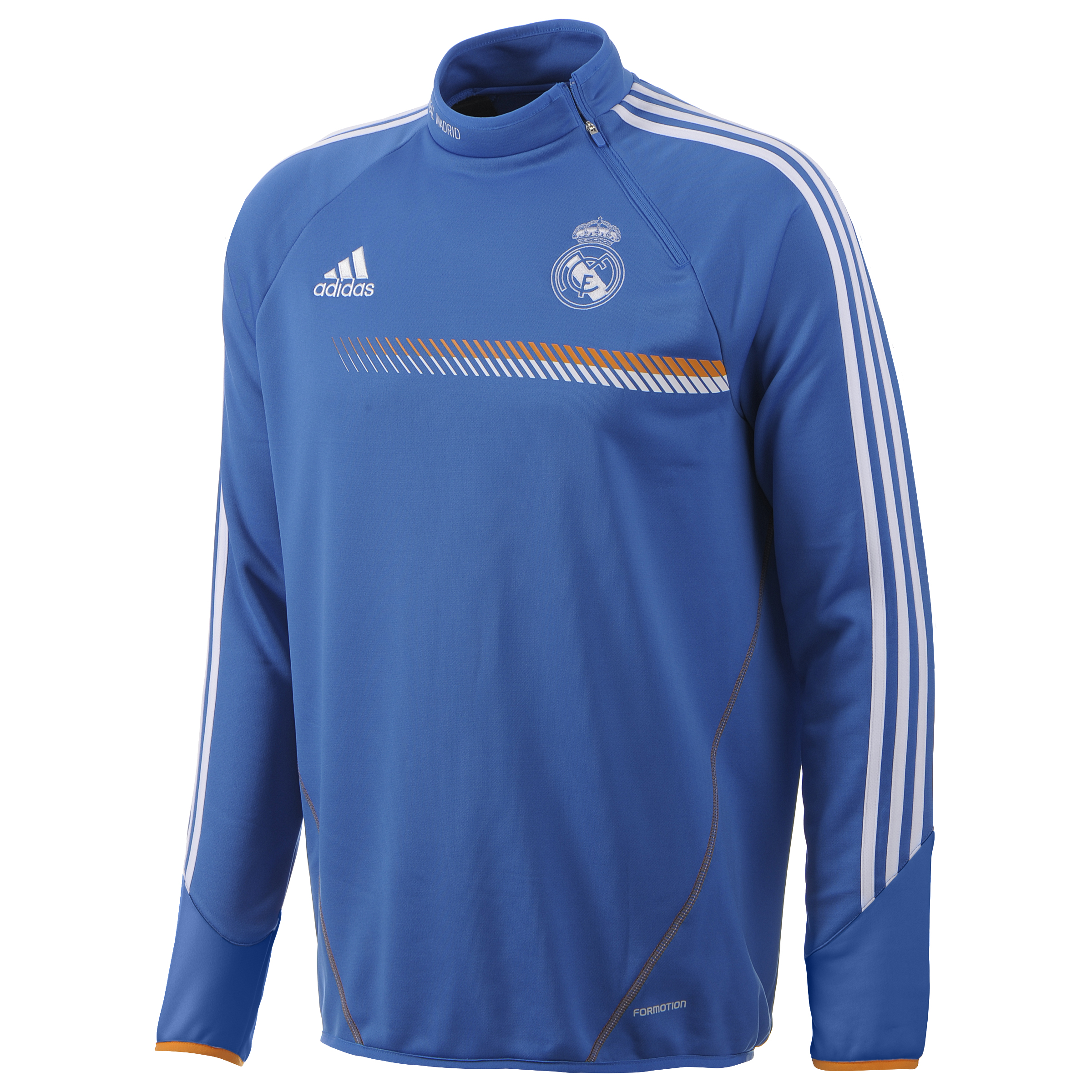 Real Madrid Training Top - Mens Blue