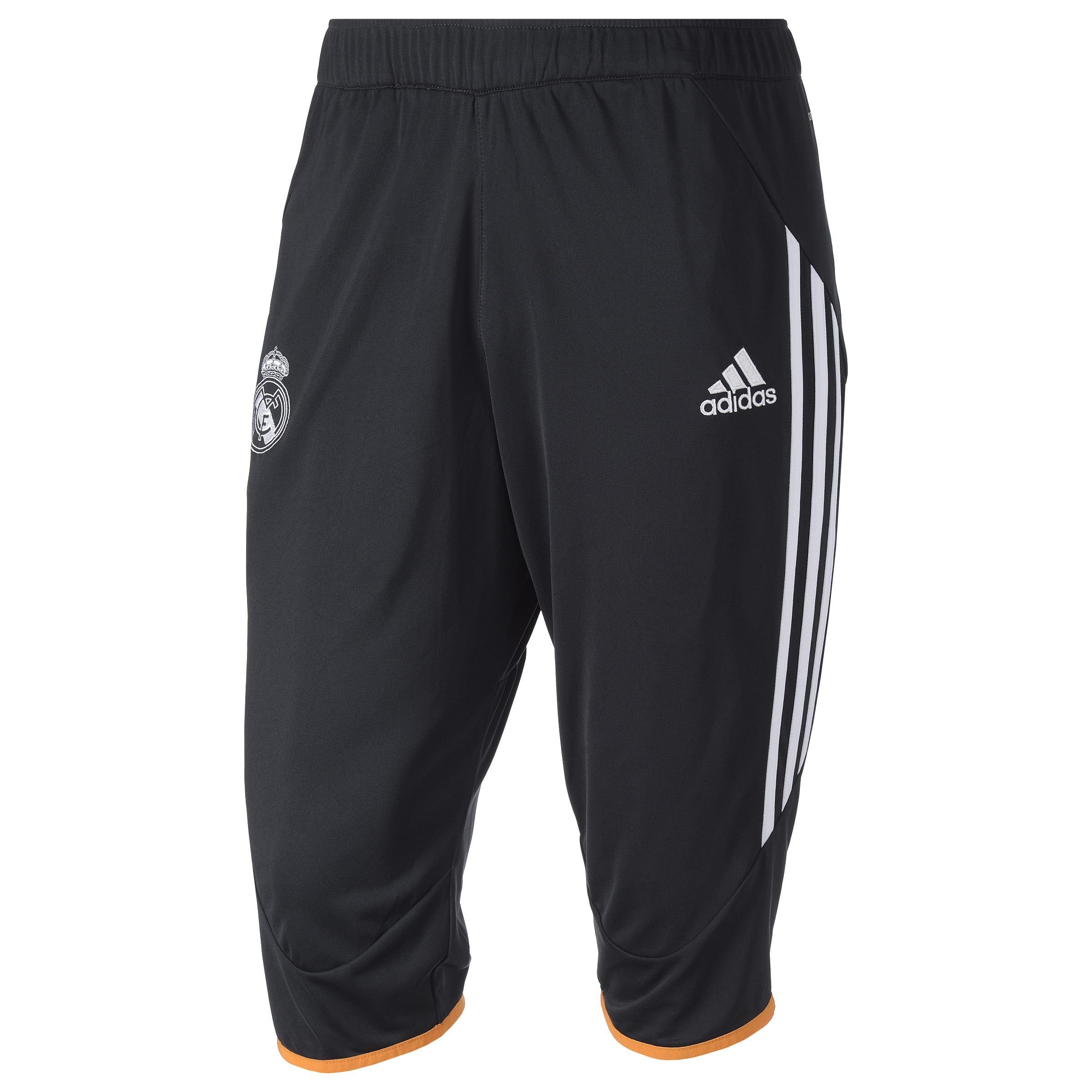 Real Madrid Training 3/4 Pant - Mens Black