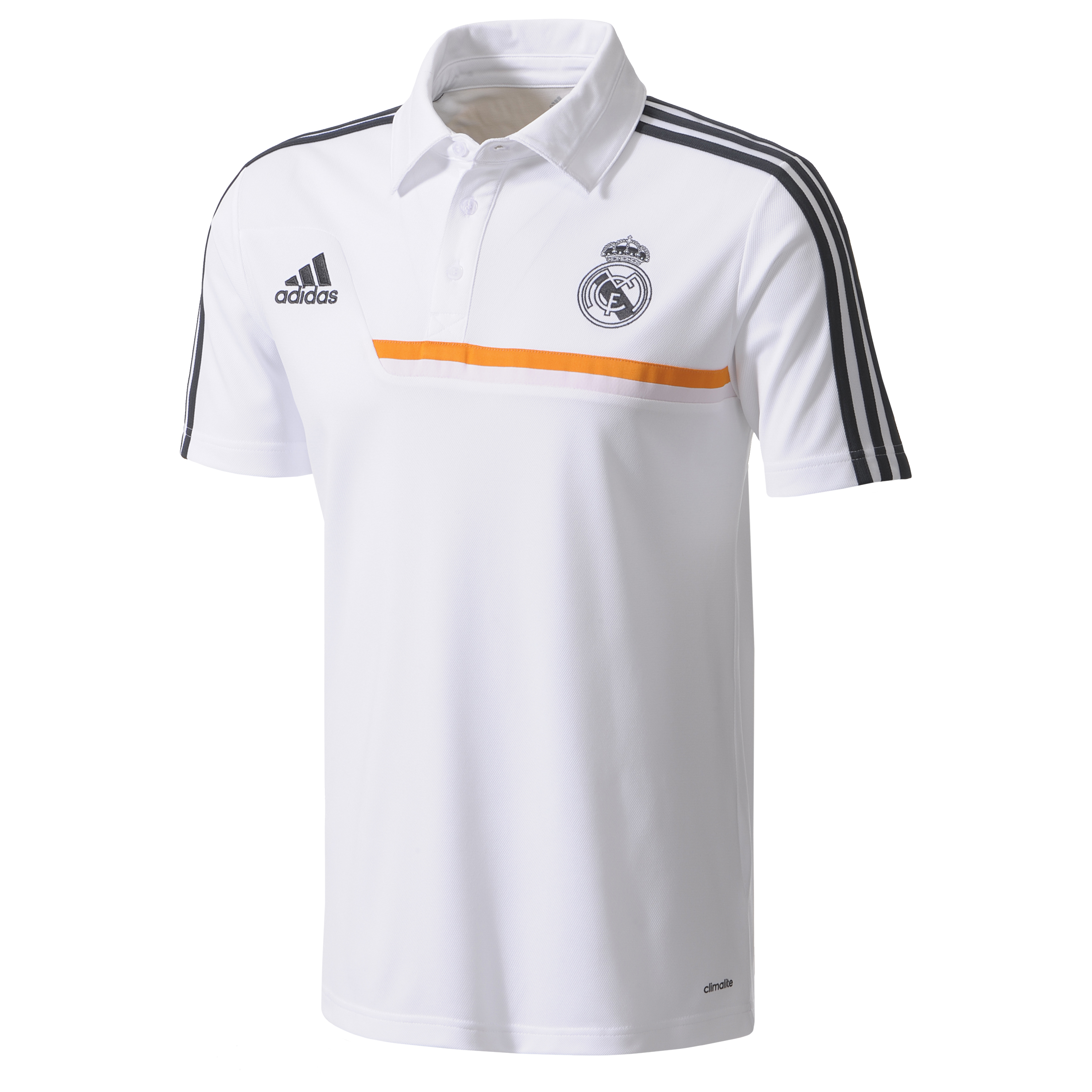 Real Madrid Training Polo - Mens White
