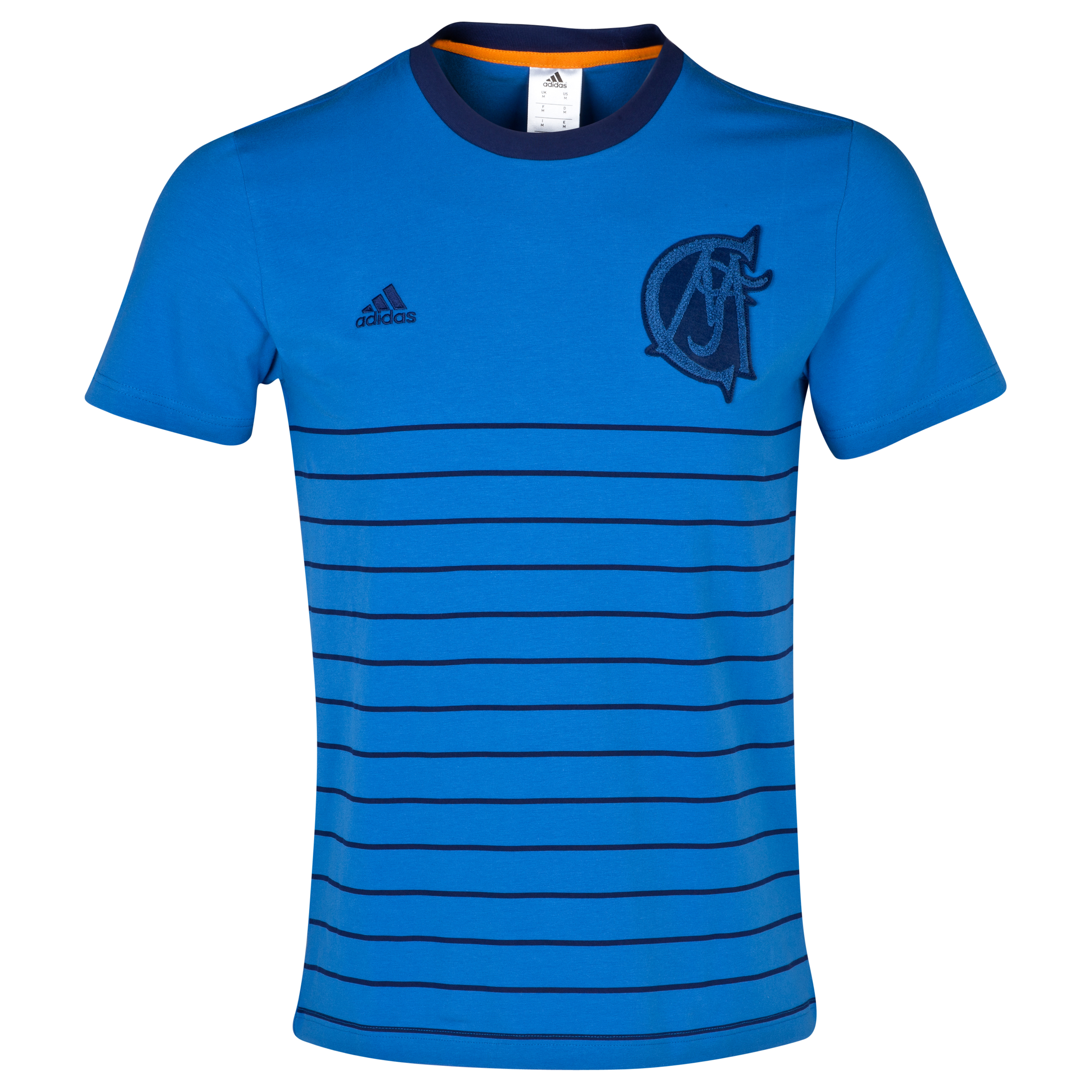 Real Madrid Authentic T-Shirt - Mens Blue