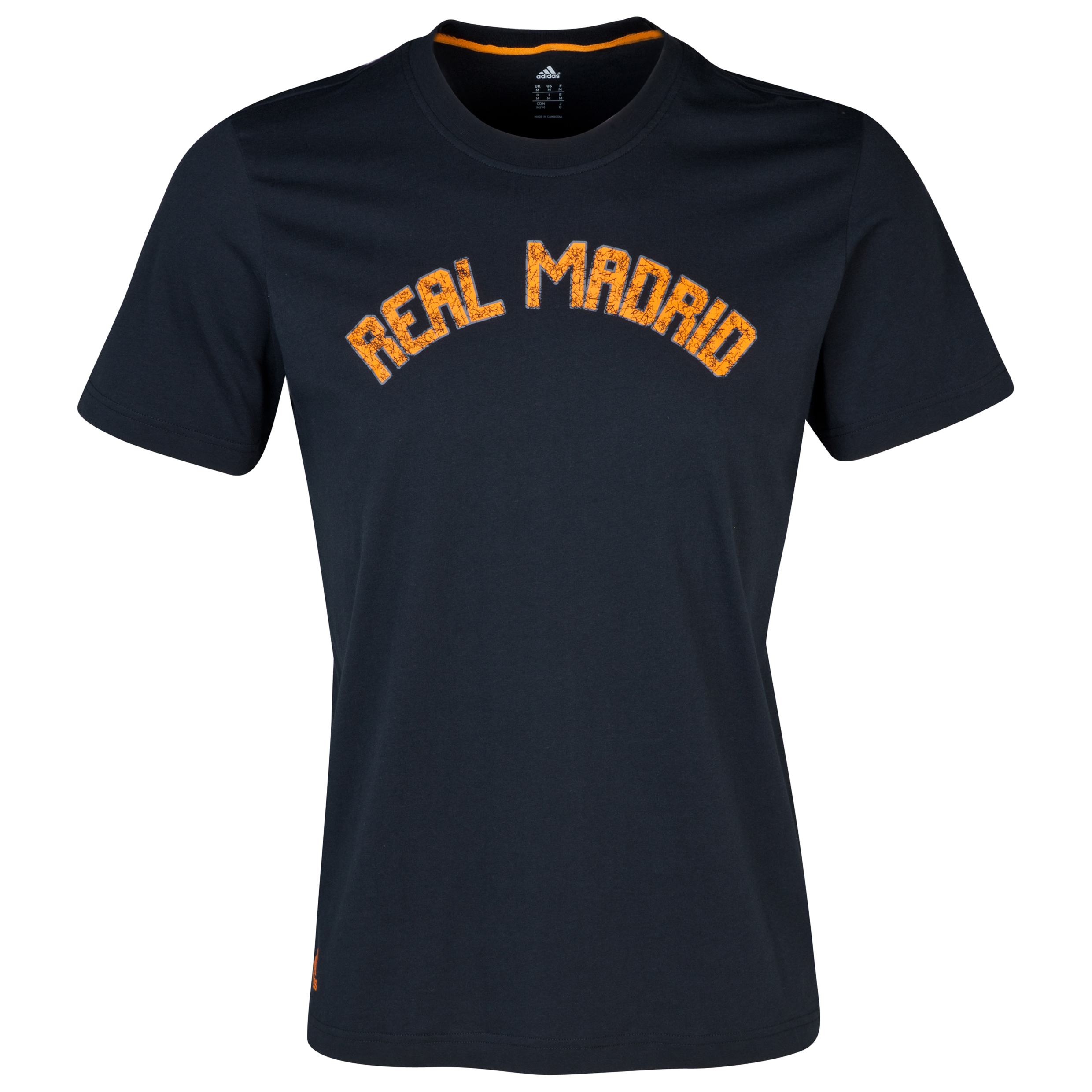 Real Madrid Core Graphic T-Shirt - Mens