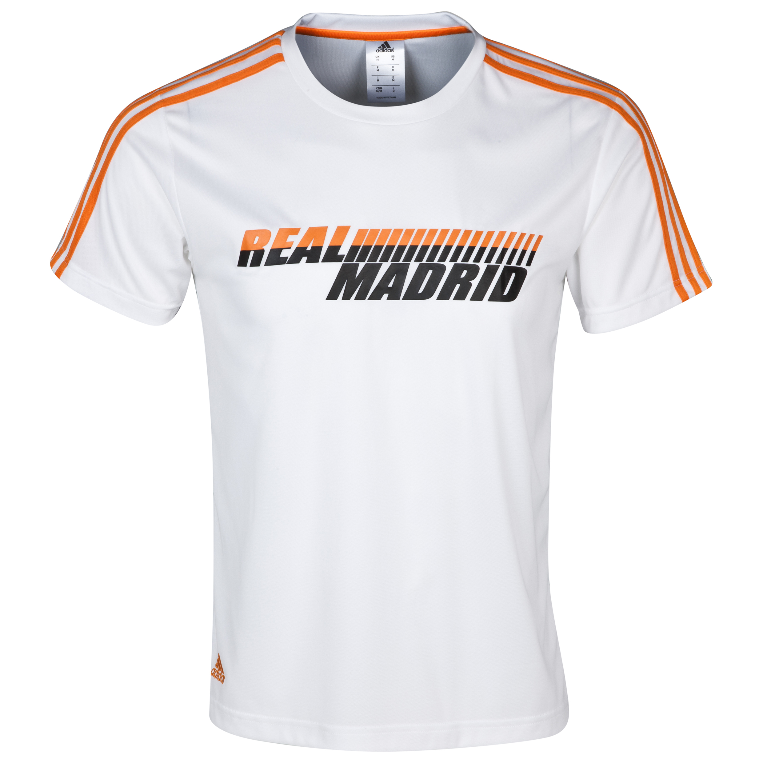 Real Madrid Core Pes T-Shirt - Mens