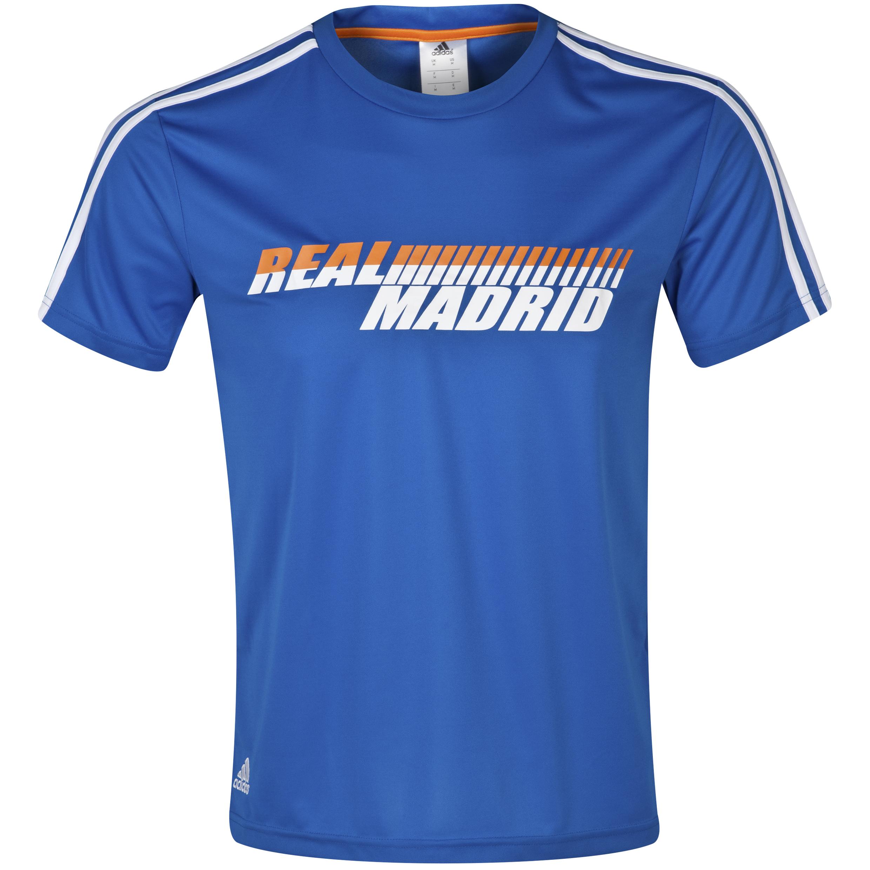 Real Madrid Core Pes T-Shirt - Mens