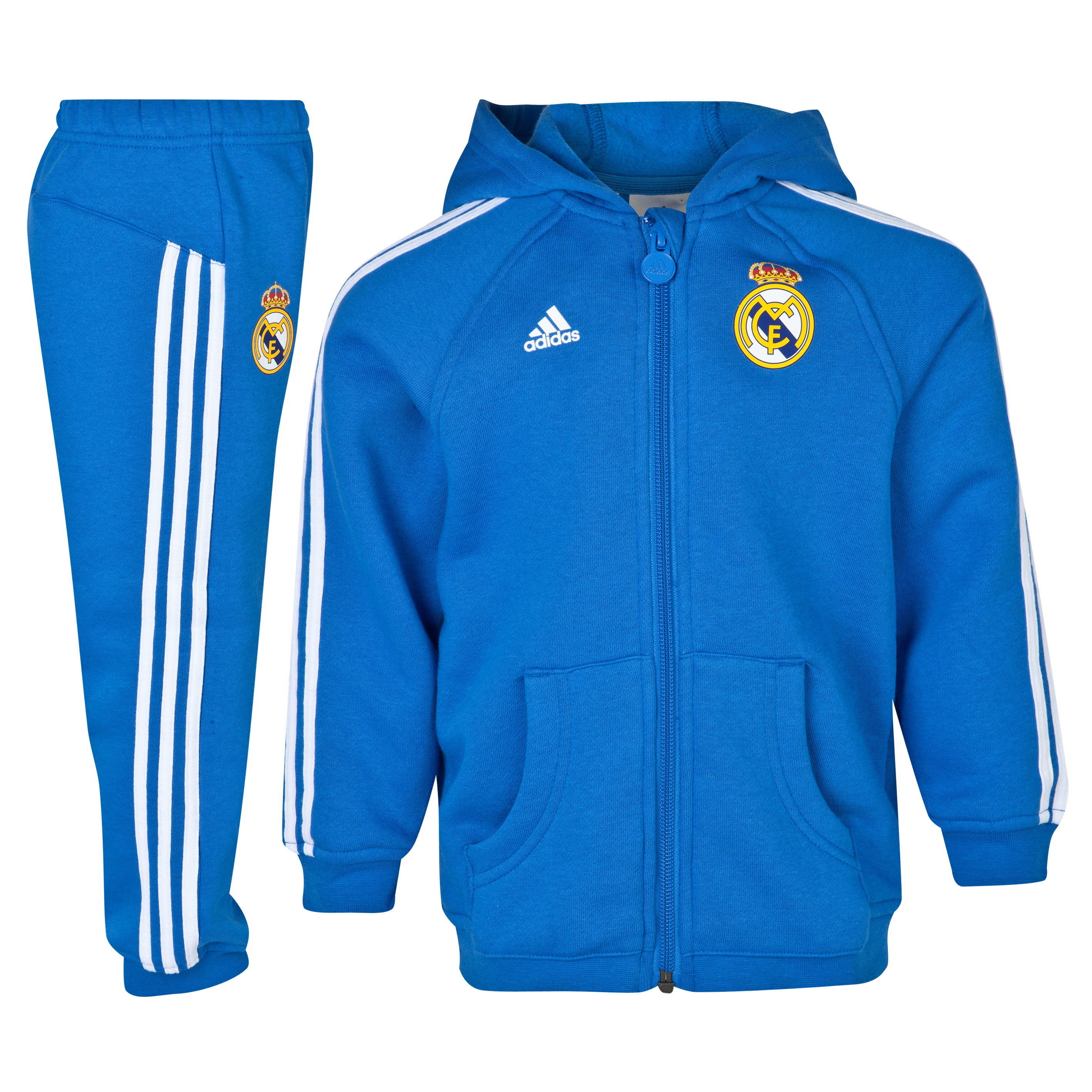 Real Madrid Core Hooded Baby Jogger - Infants
