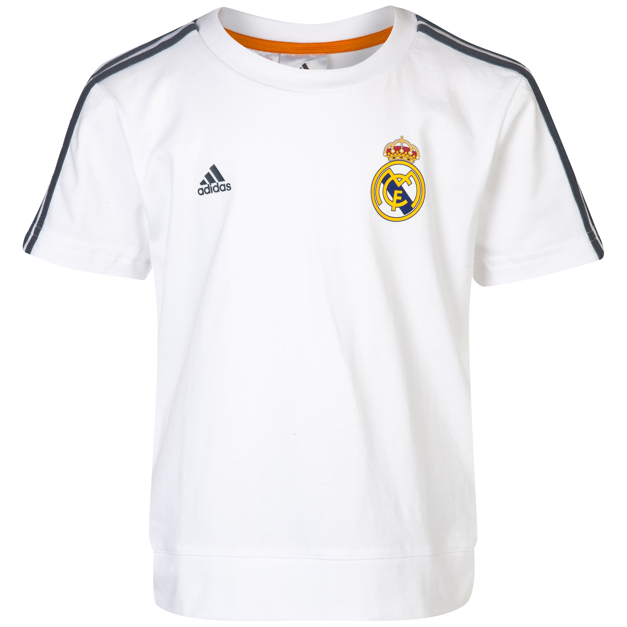 Real Madrid Core T-Shirt - Infants White