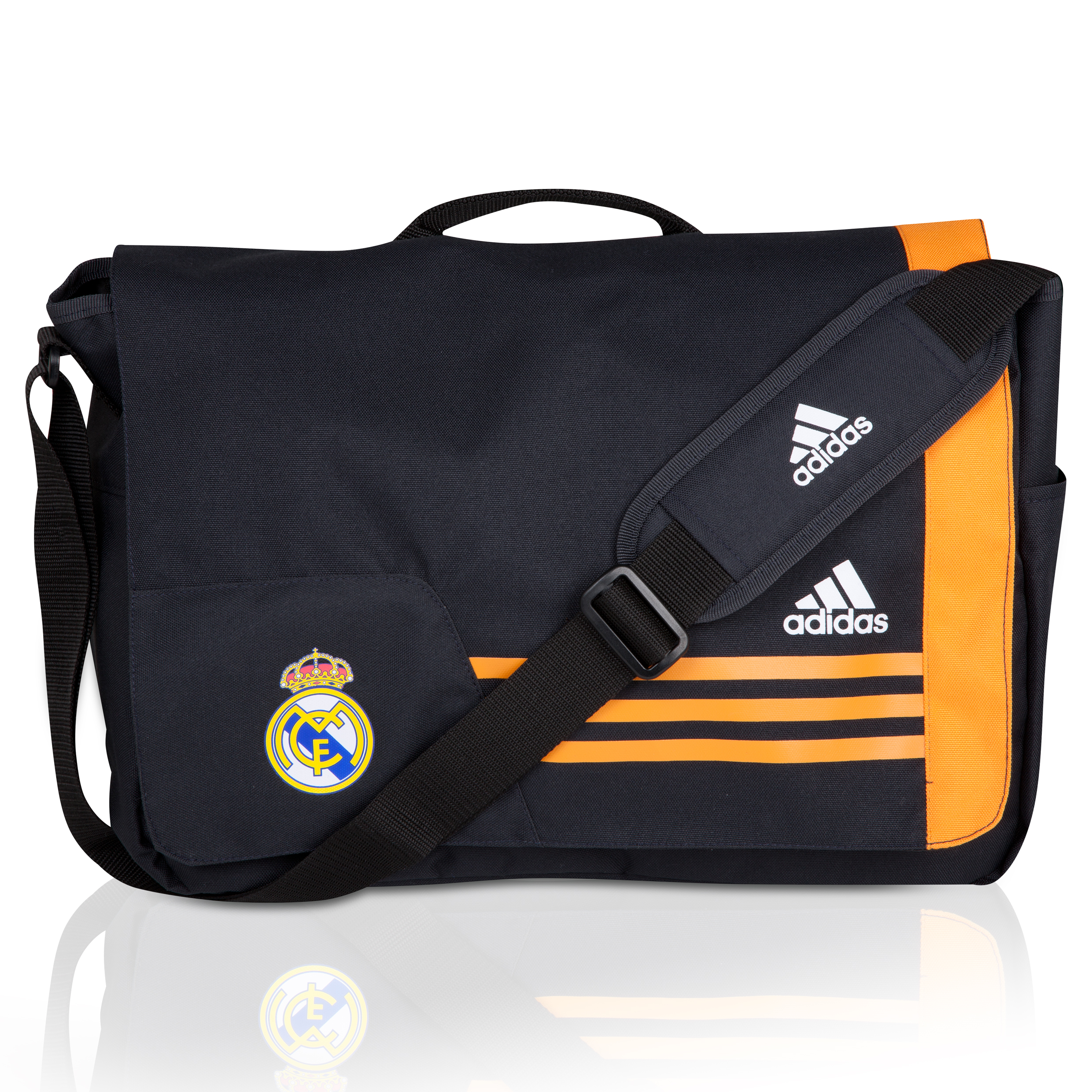 Real Madrid Messenger Bag Black