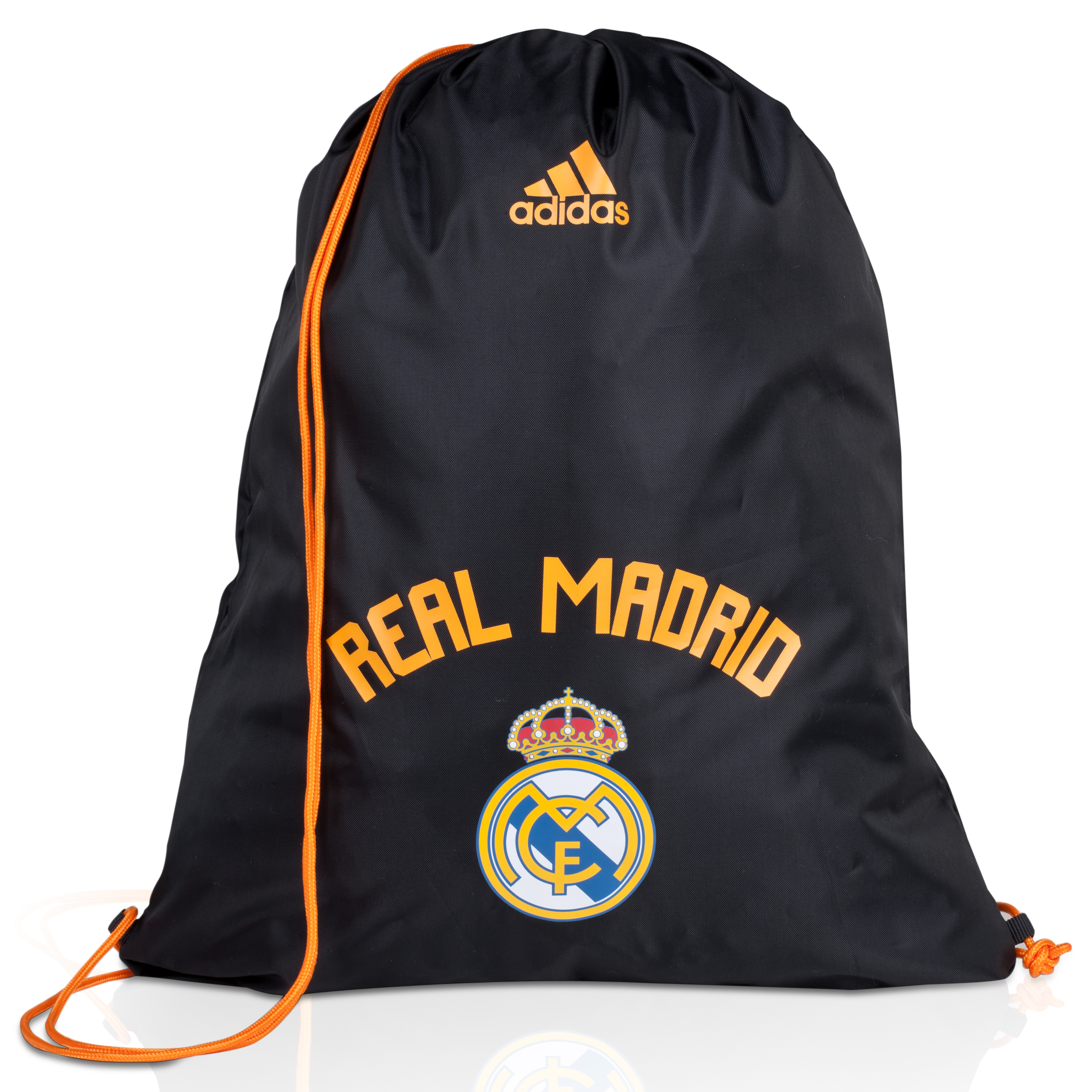 Real Madrid Club Gym Bag Black