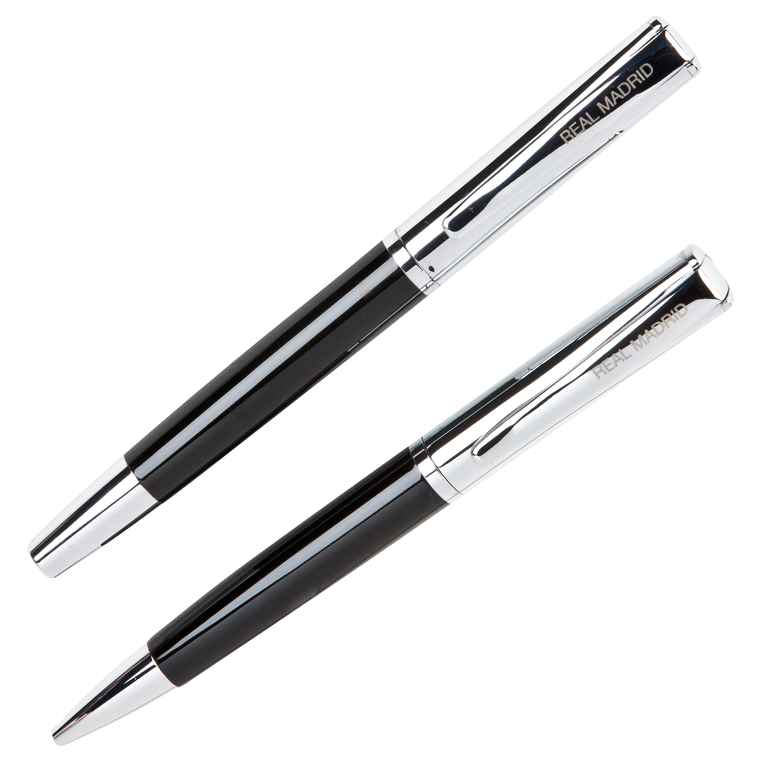 Real Madrid Lacquered Ball Pen and Roller Pen in Gift Box