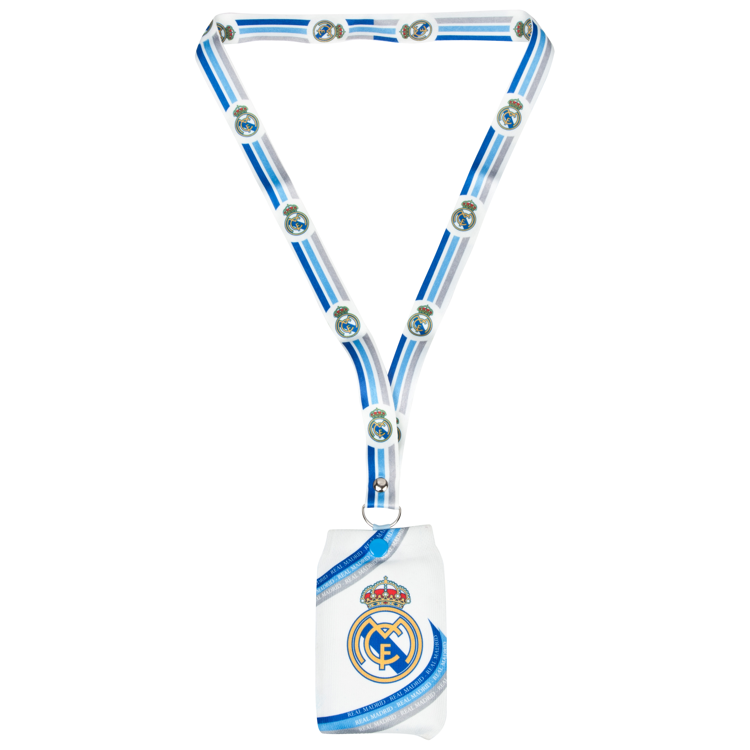 Real Madrid Mobile Phone Holder with Lanyard
