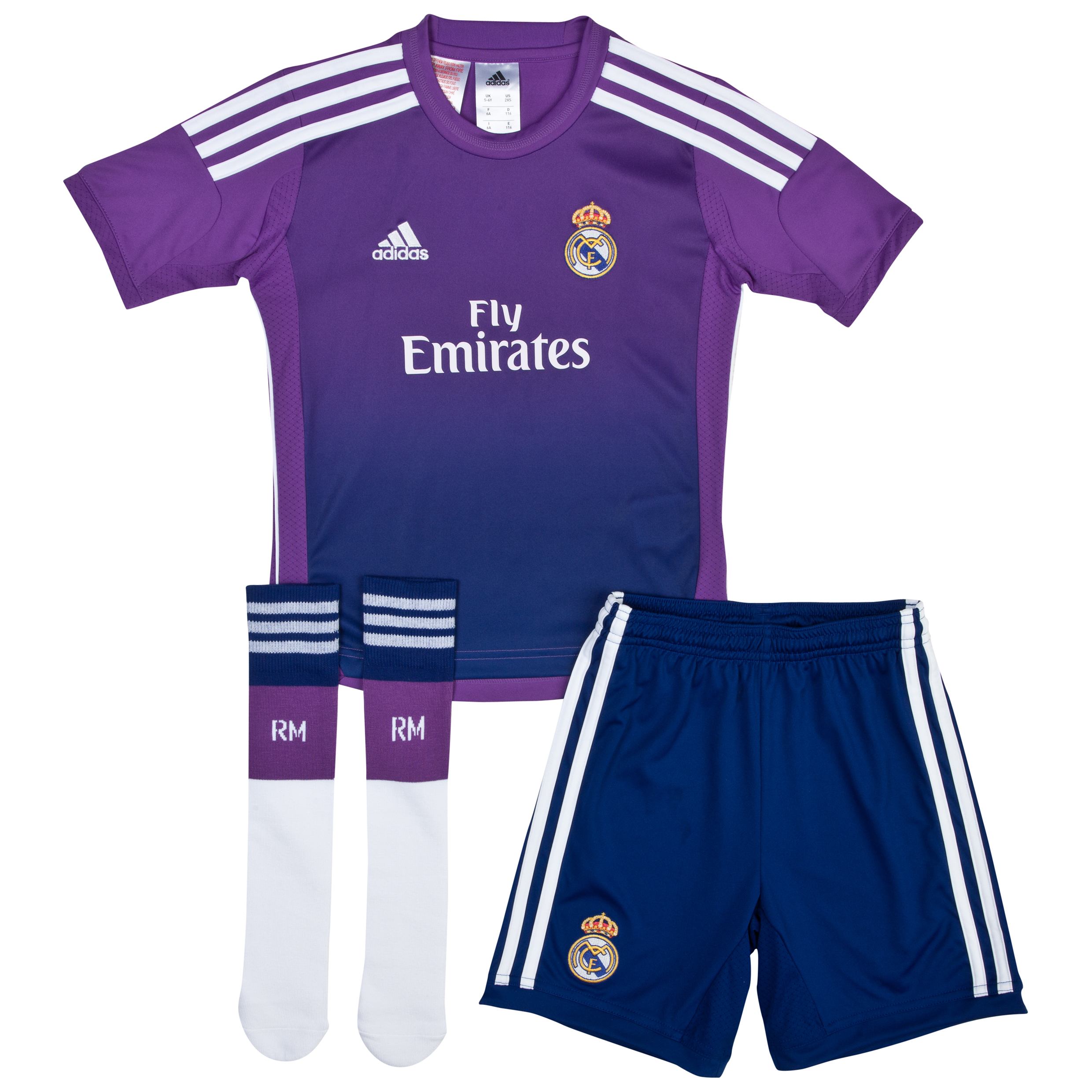 Real Madrid Home Goalkeeper Mini Kit 2013/14