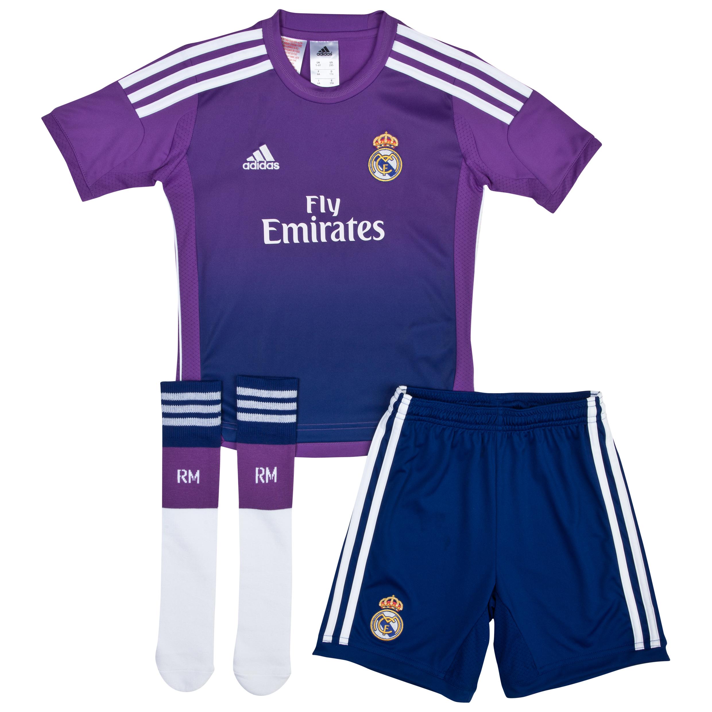 Real Madrid Home Goalkeeper Mini Kit 2013/14
