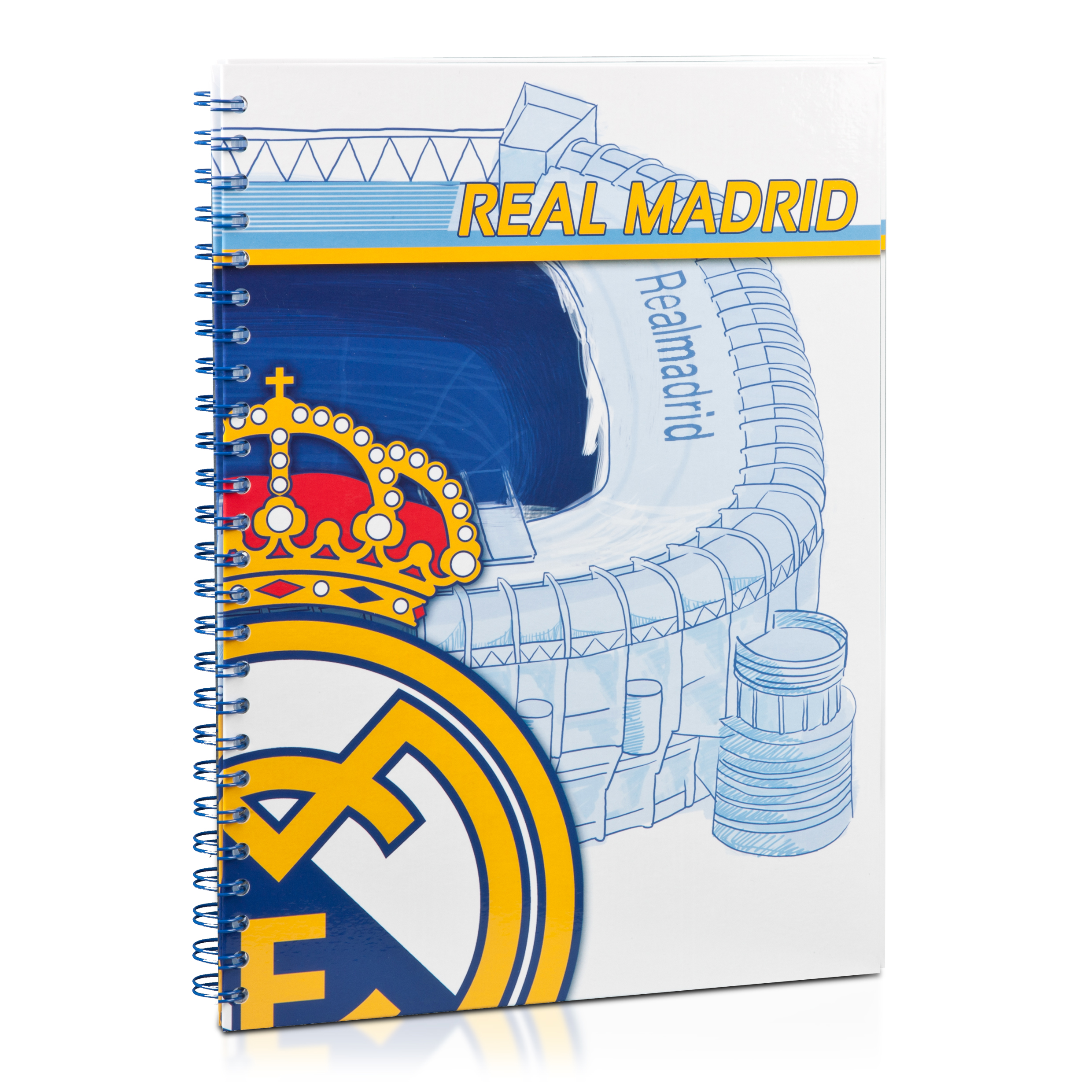 Real Madrid Folder with 30 Transparent Cases