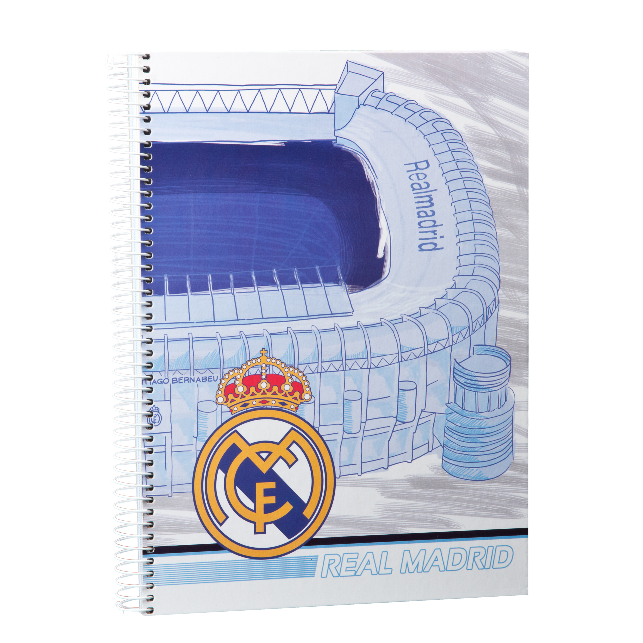 Real Madrid A4 Note Book