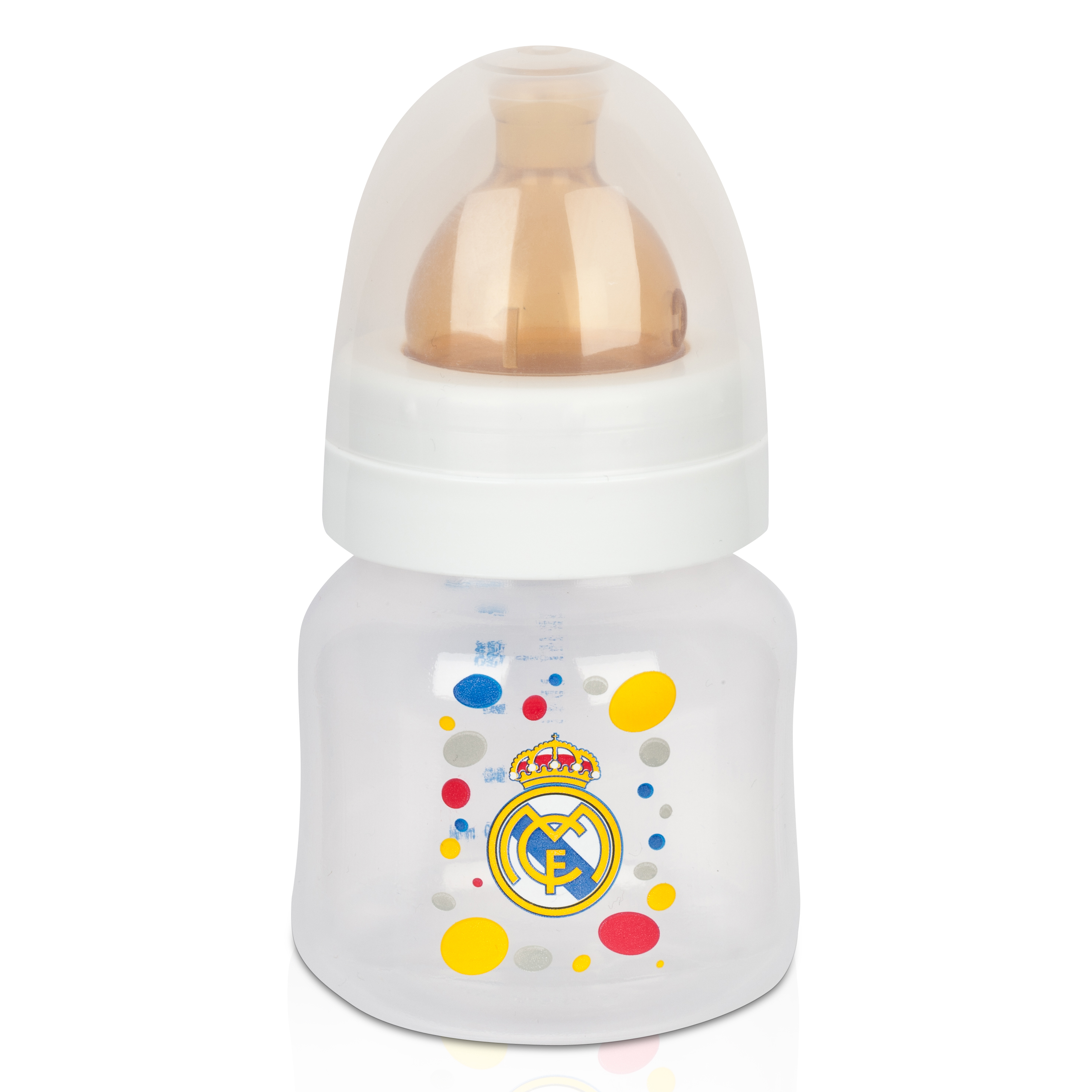 Real Madrid Baby Feeding Bottle - 150ml White