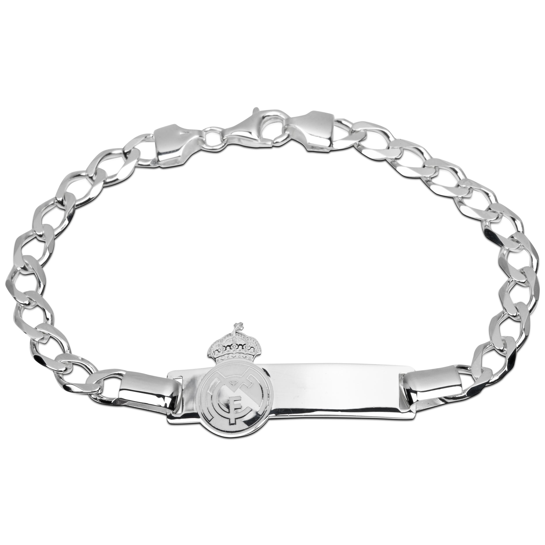 Real Madrid Crest Bracelet Silver